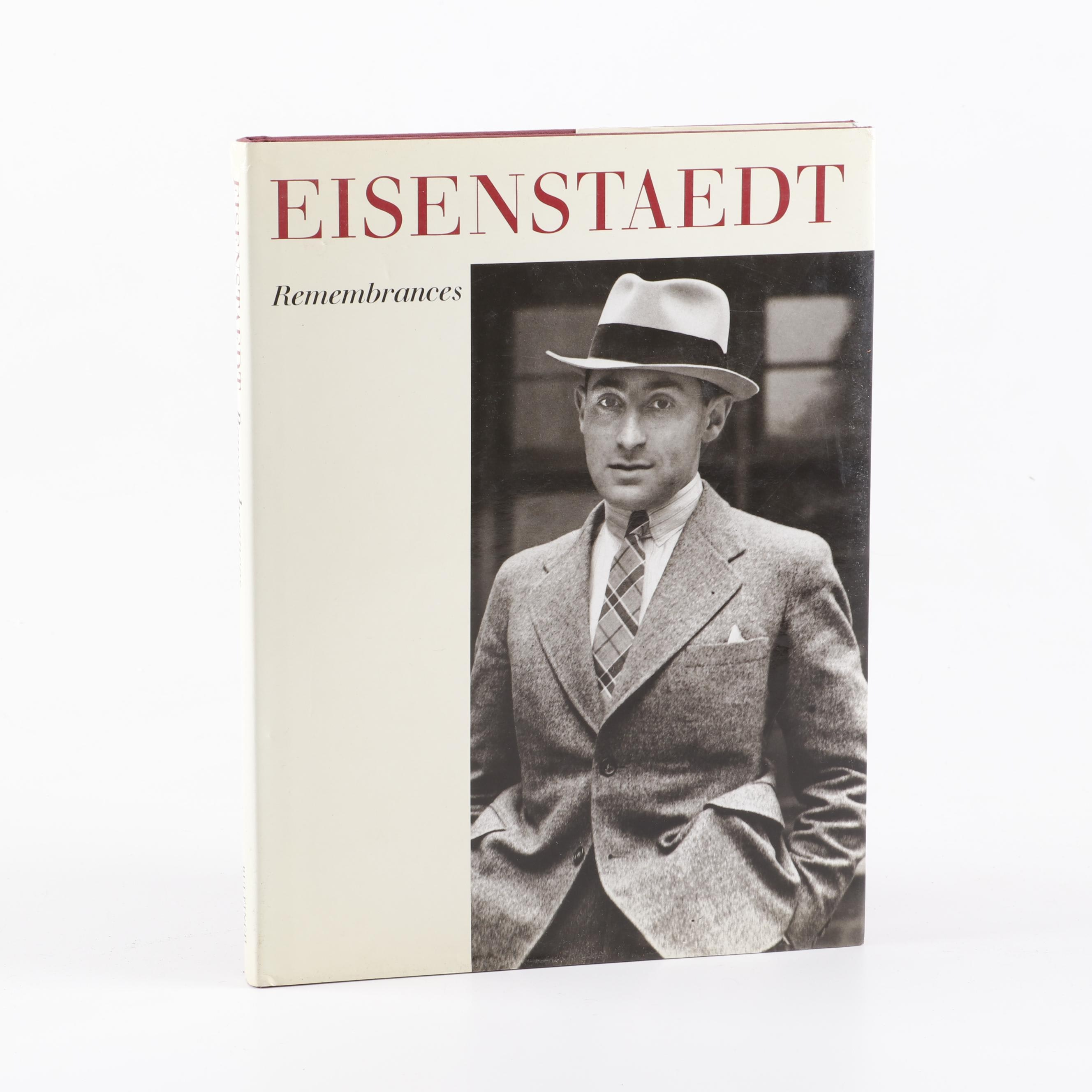 "Signed ""Eisenstaedt: Rememberances"" Photography Book, 1990"