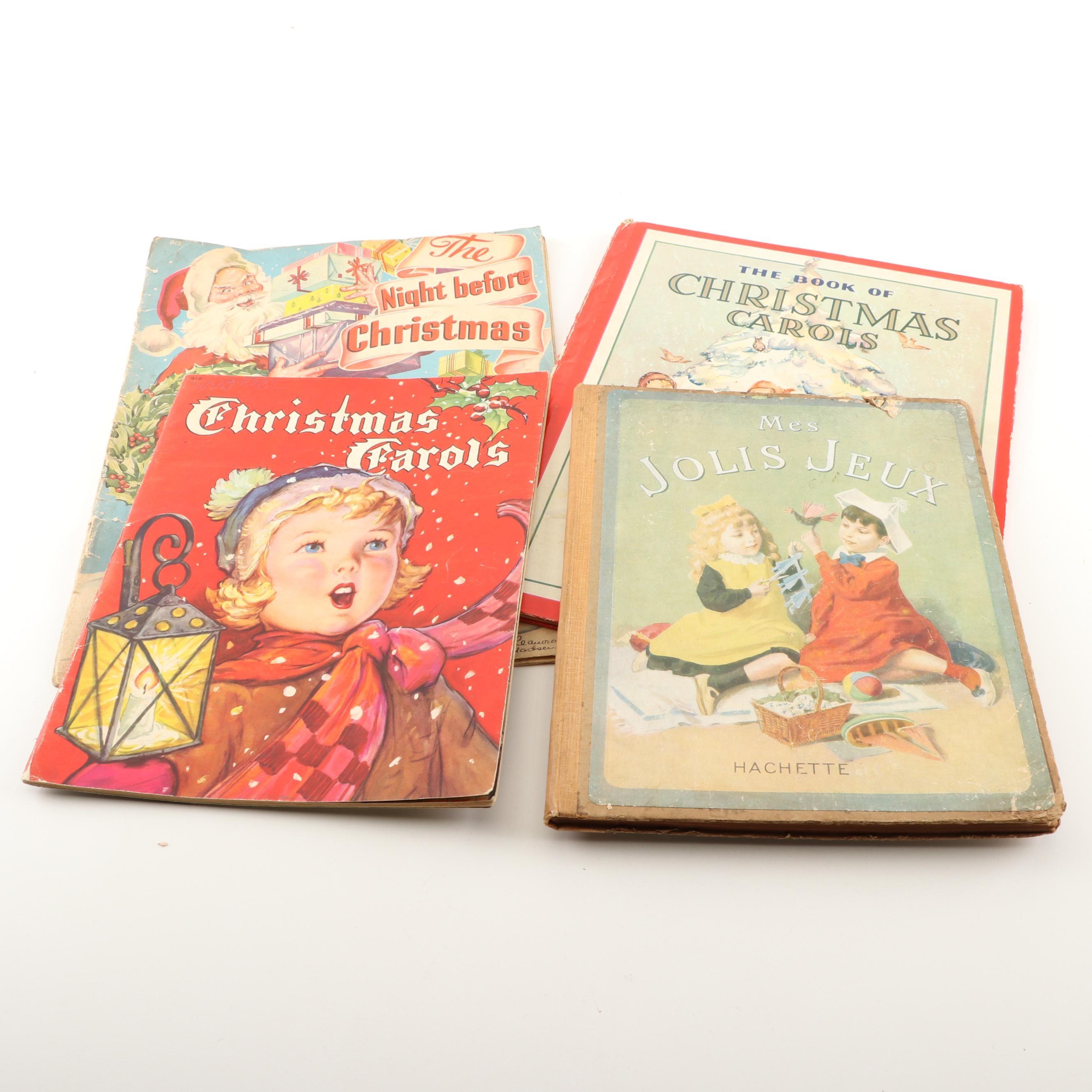 Vintage Christmas Children's Books