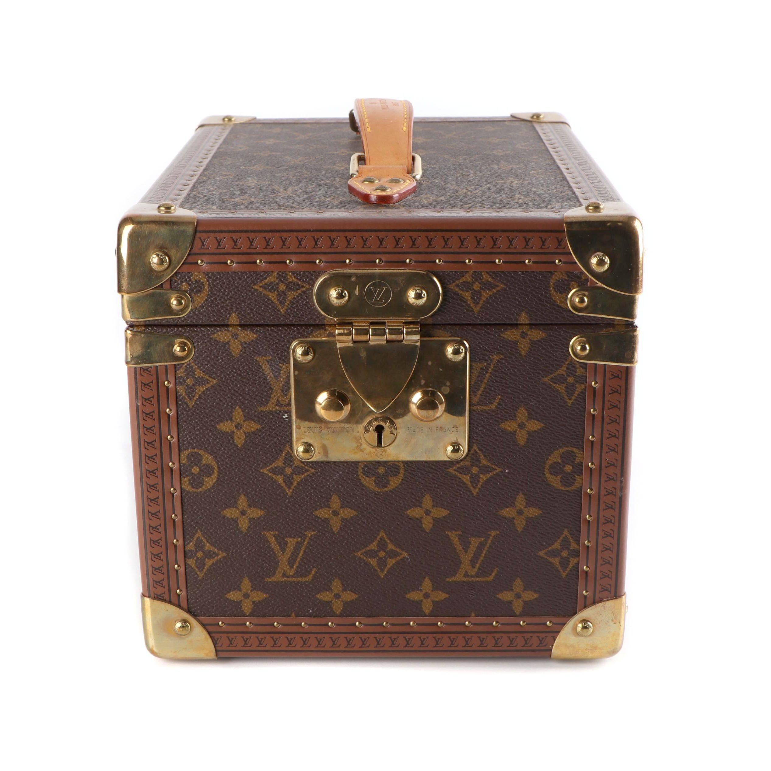Louis Vuitton Paris Bôite Flacons Monogram Canvas Beauty Case