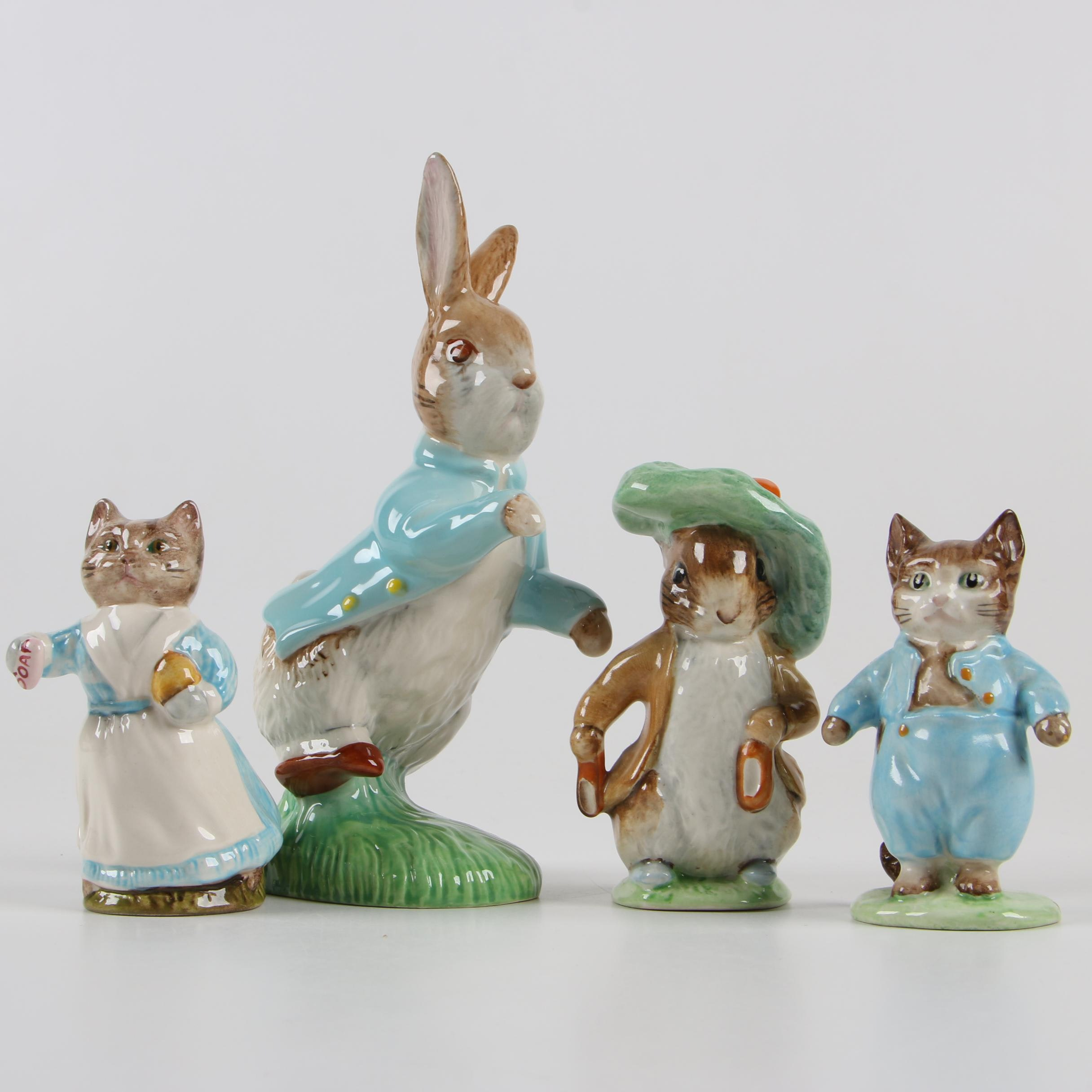 "Beswick ""Beatrix Potter"" Porcelain Figurines"