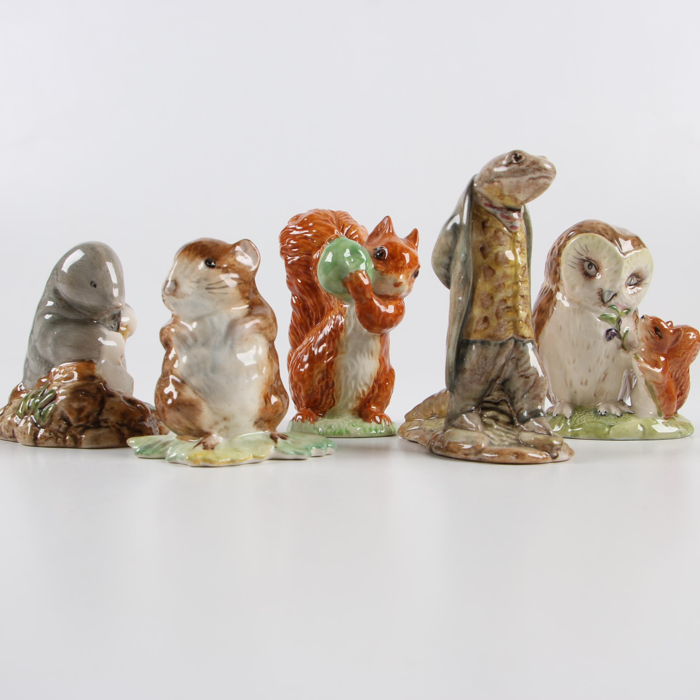 "Vintage Beswick ""Beatrix Potter"" Porcelain Figurines"
