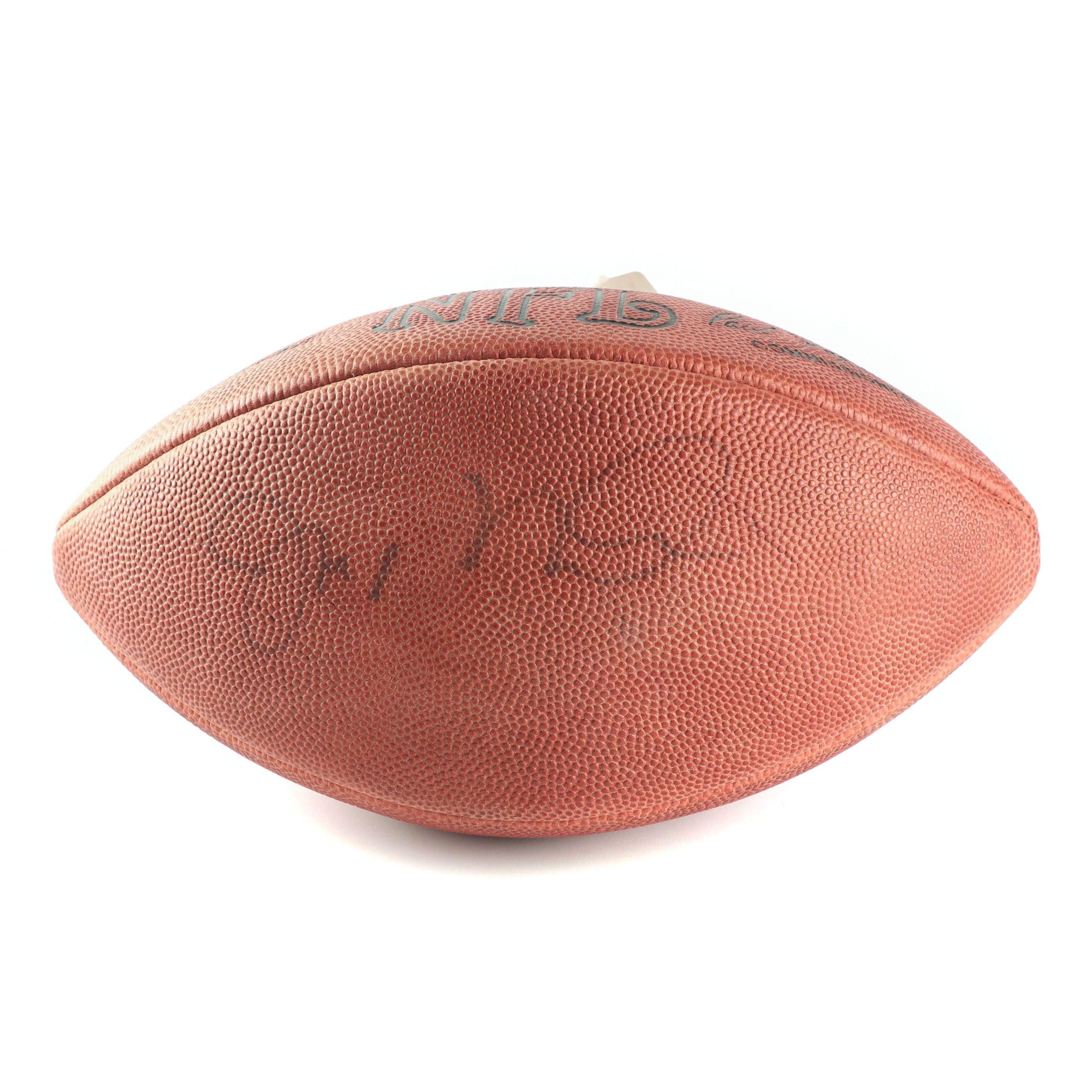 Joe Montana Autographed Official NFL Leather Football