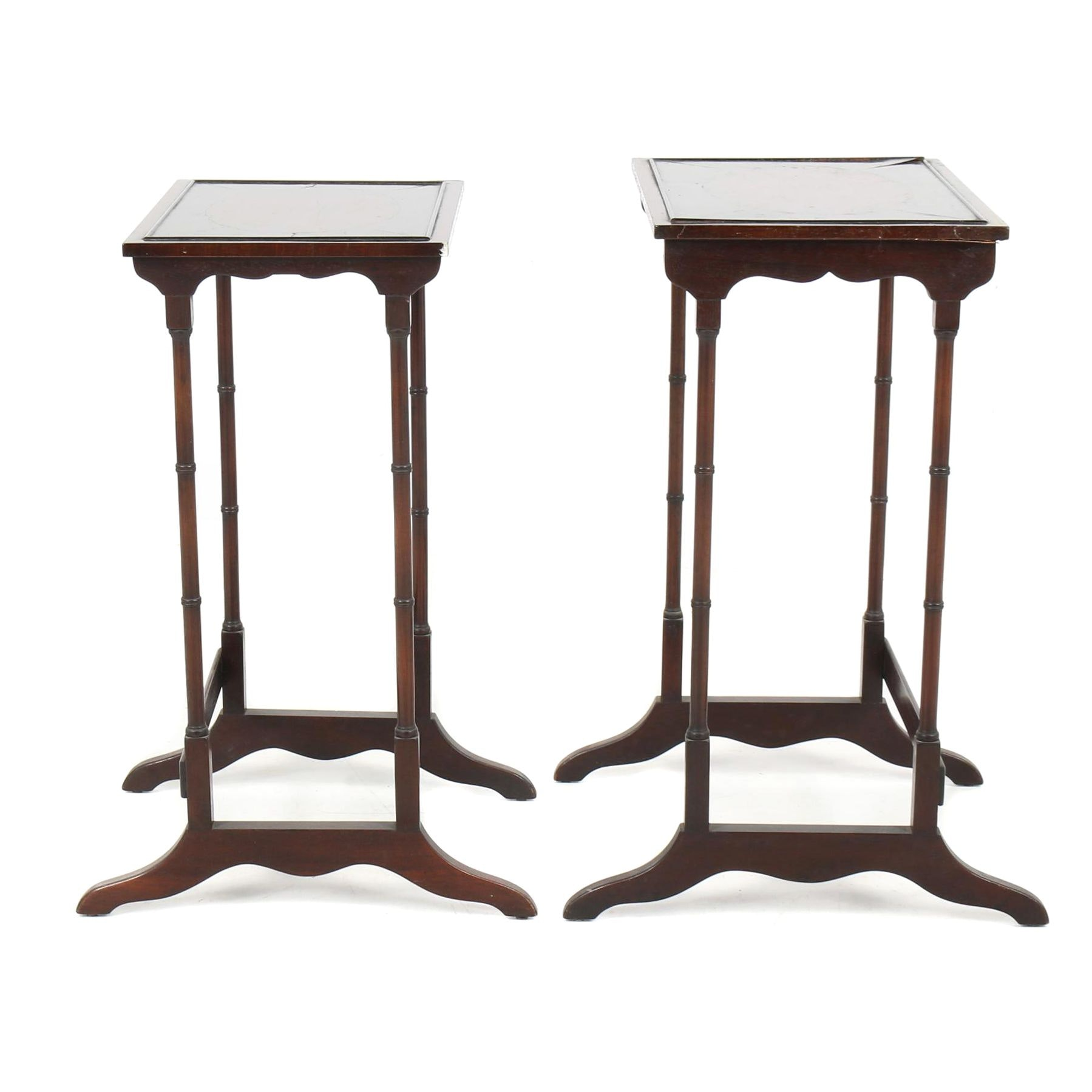 Two Wooden Side Table