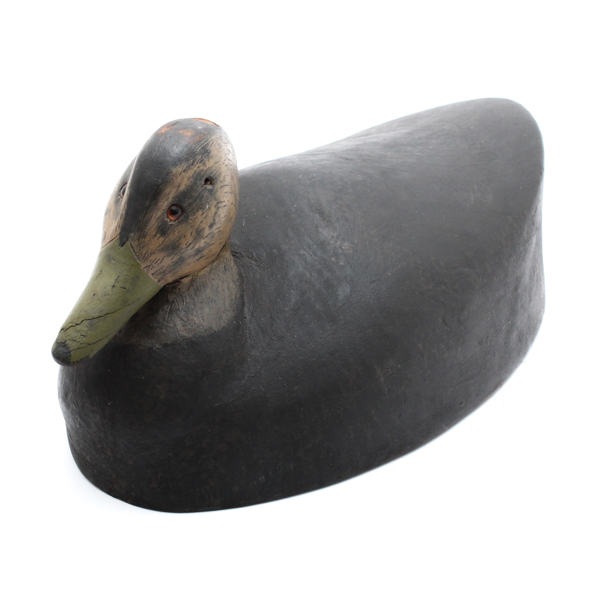 Robert Kitchener Roberson Carved Duck Decoy
