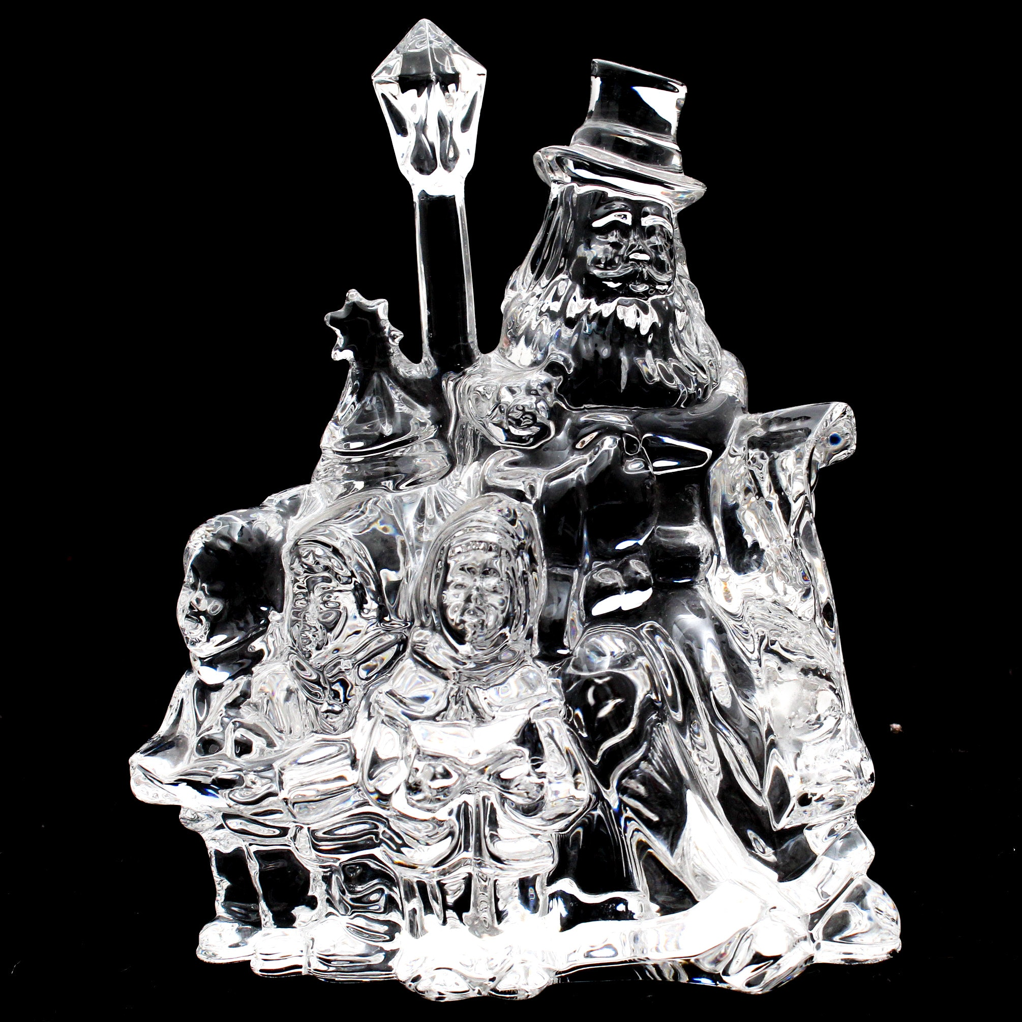 """Waterford Crystal """"Victorian Santa Claus First Edition"""" Figurine"""