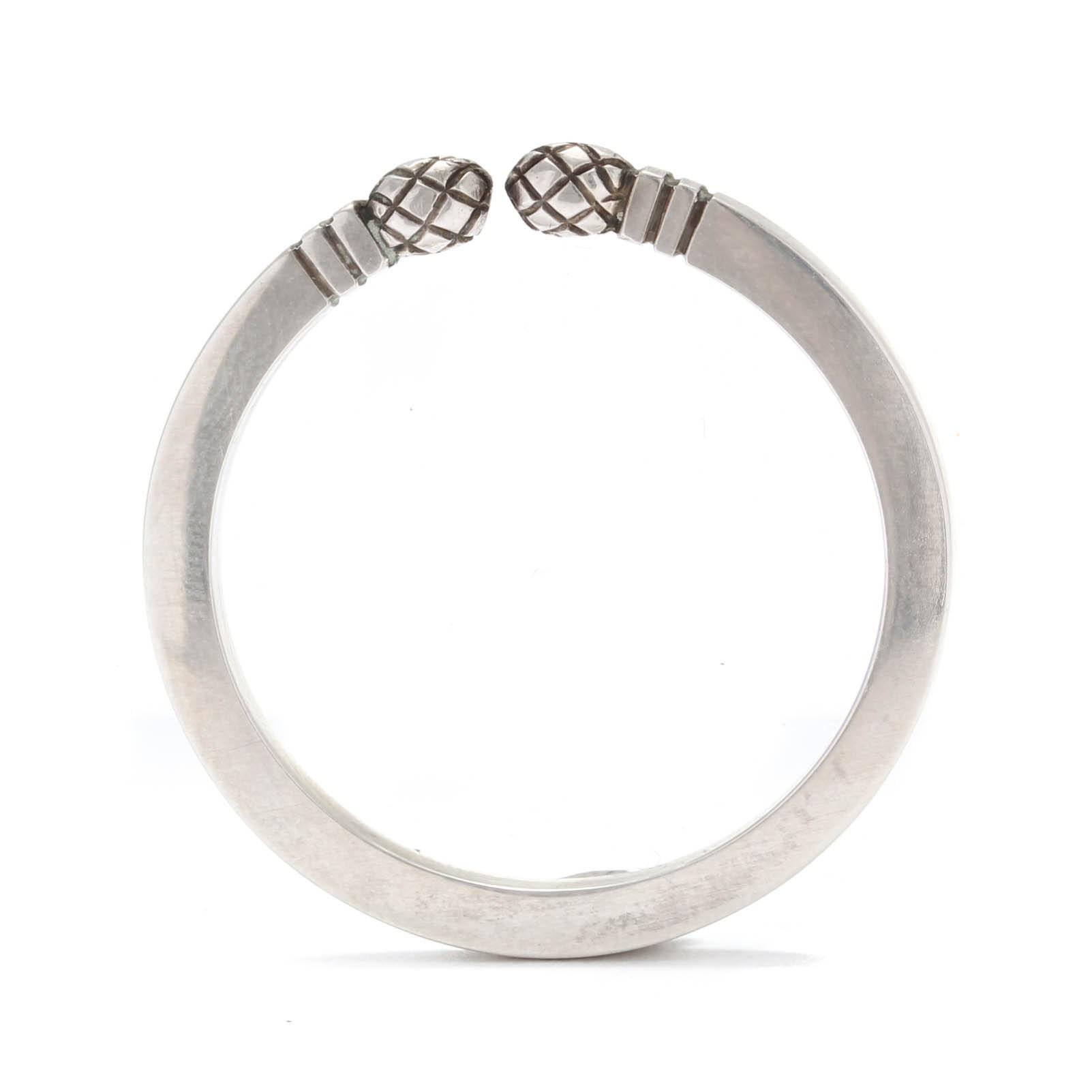Georg Jesen Sterling Silver Circular Keyring