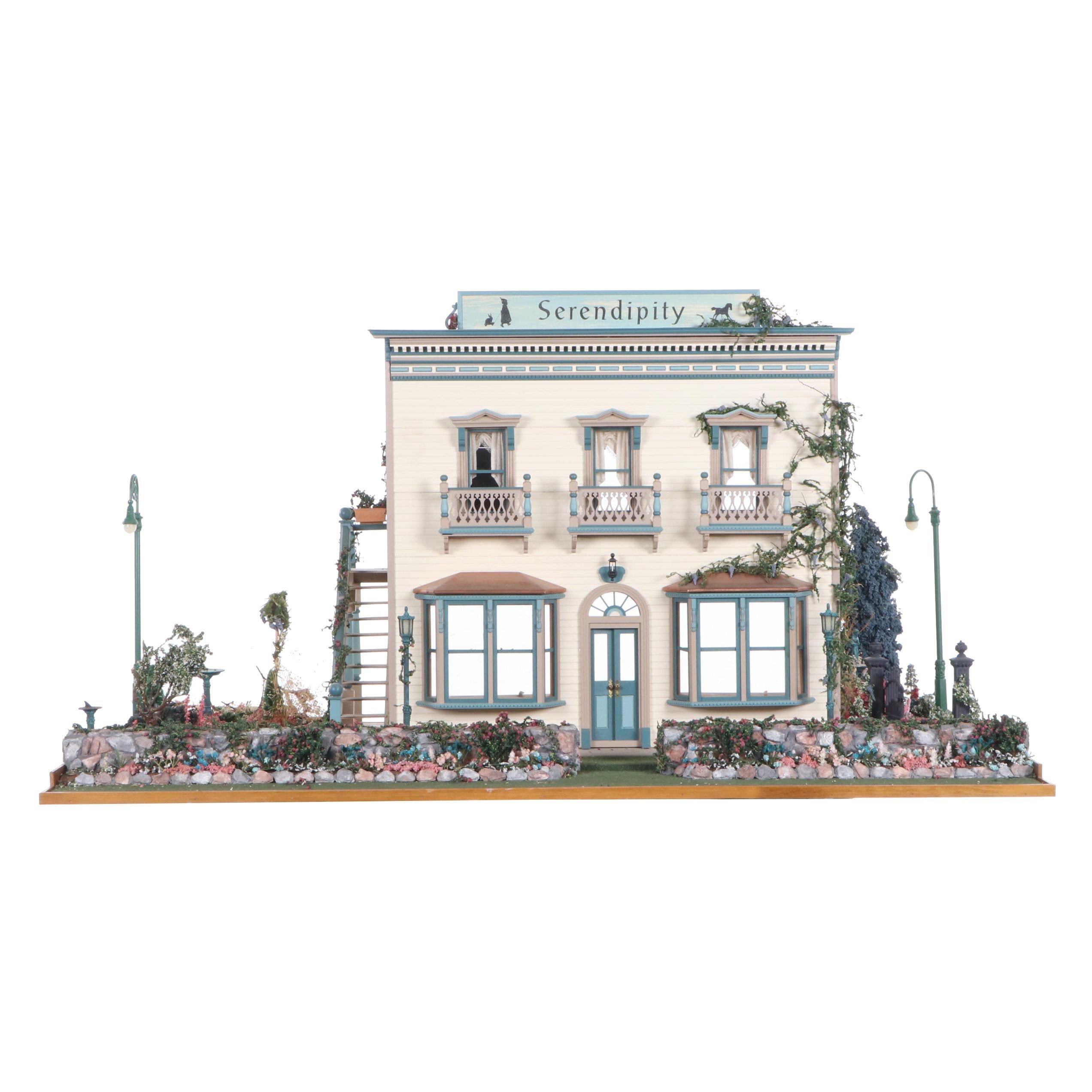 """""""Serendipity"""" Toy Shop Dollhouse Miniature"""