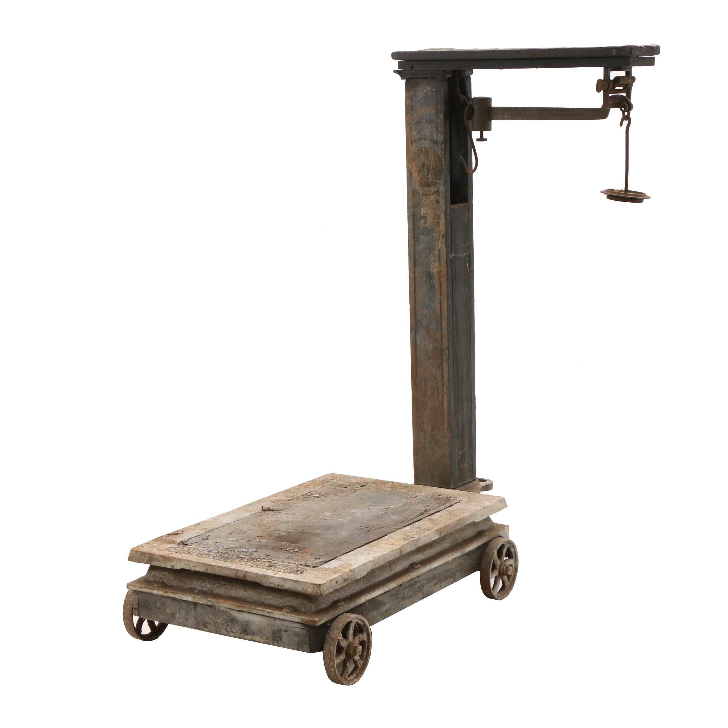 Early 1900s Fairbanks Standard Industrial Scale
