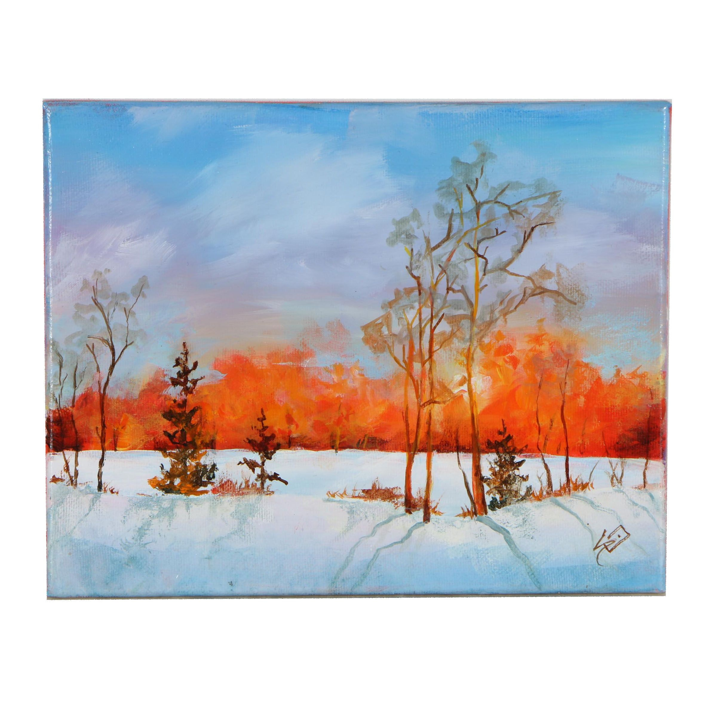 """Sue Dion Oil Painting """"Promise of a New Day"""""""