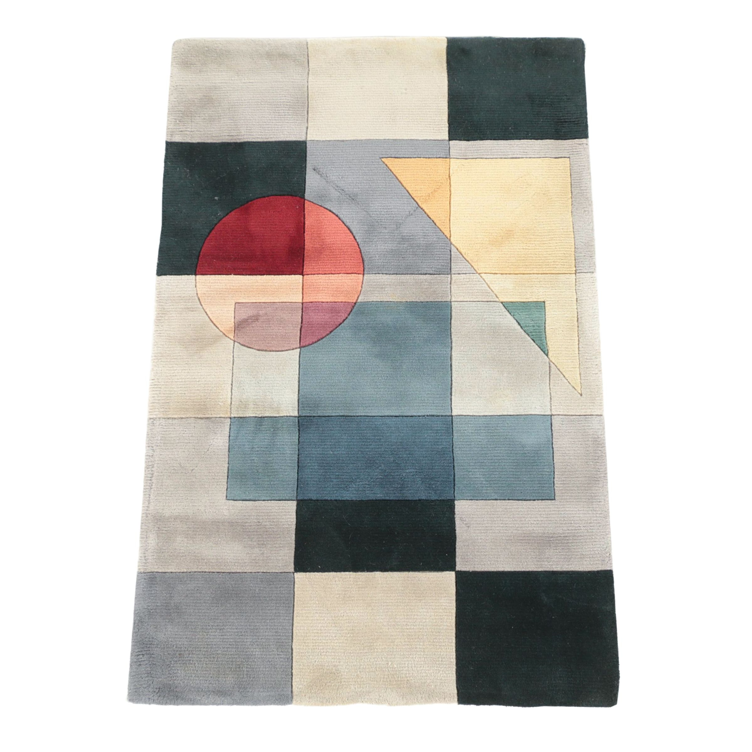 """Momeni Hand-Tufted Chinese """"New Wave"""" Wool Area Rug"""