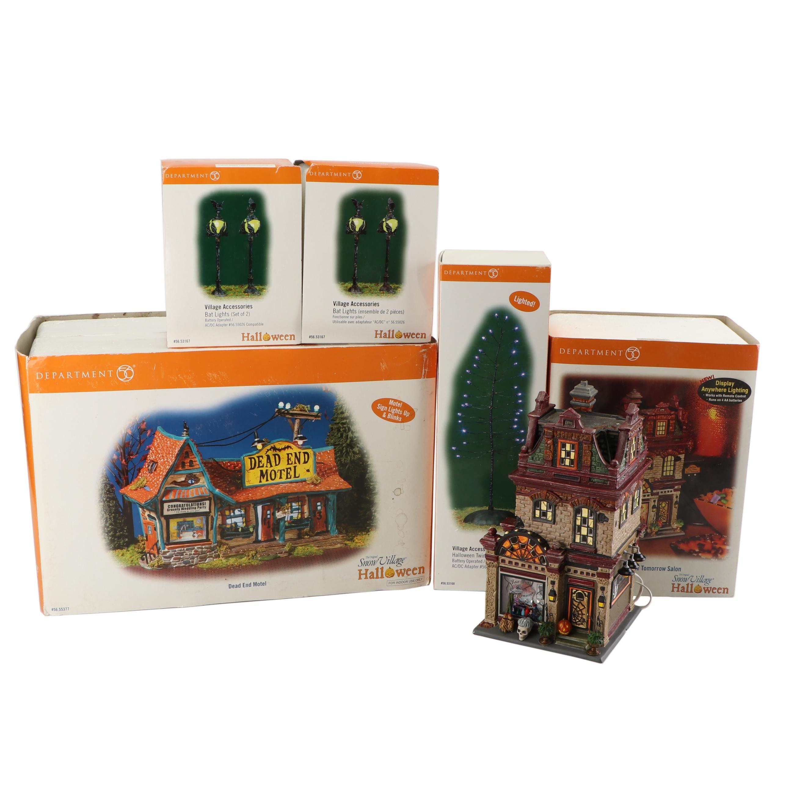 Department 56 Halloween Village Accessories