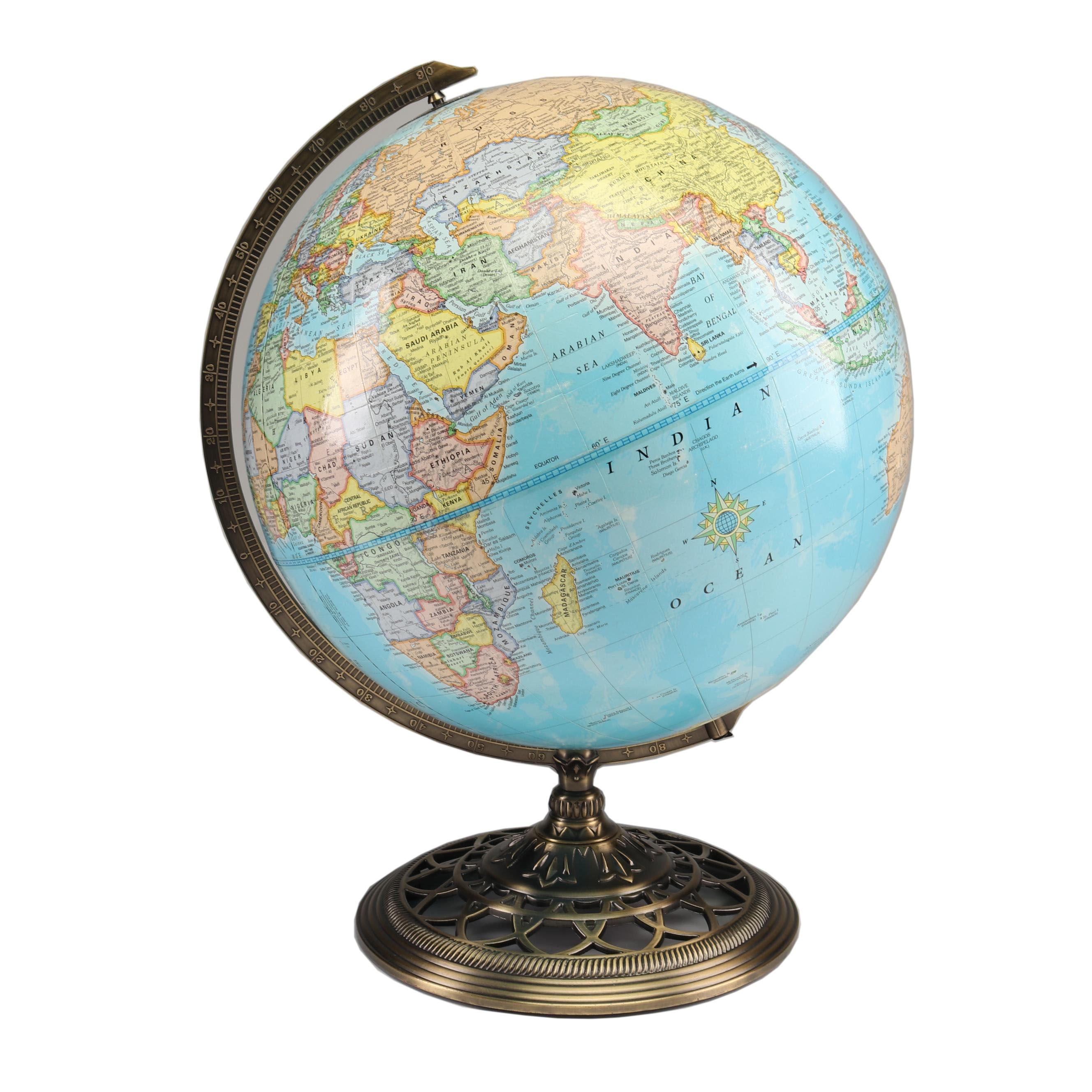 George F. Cram Co. World Globe