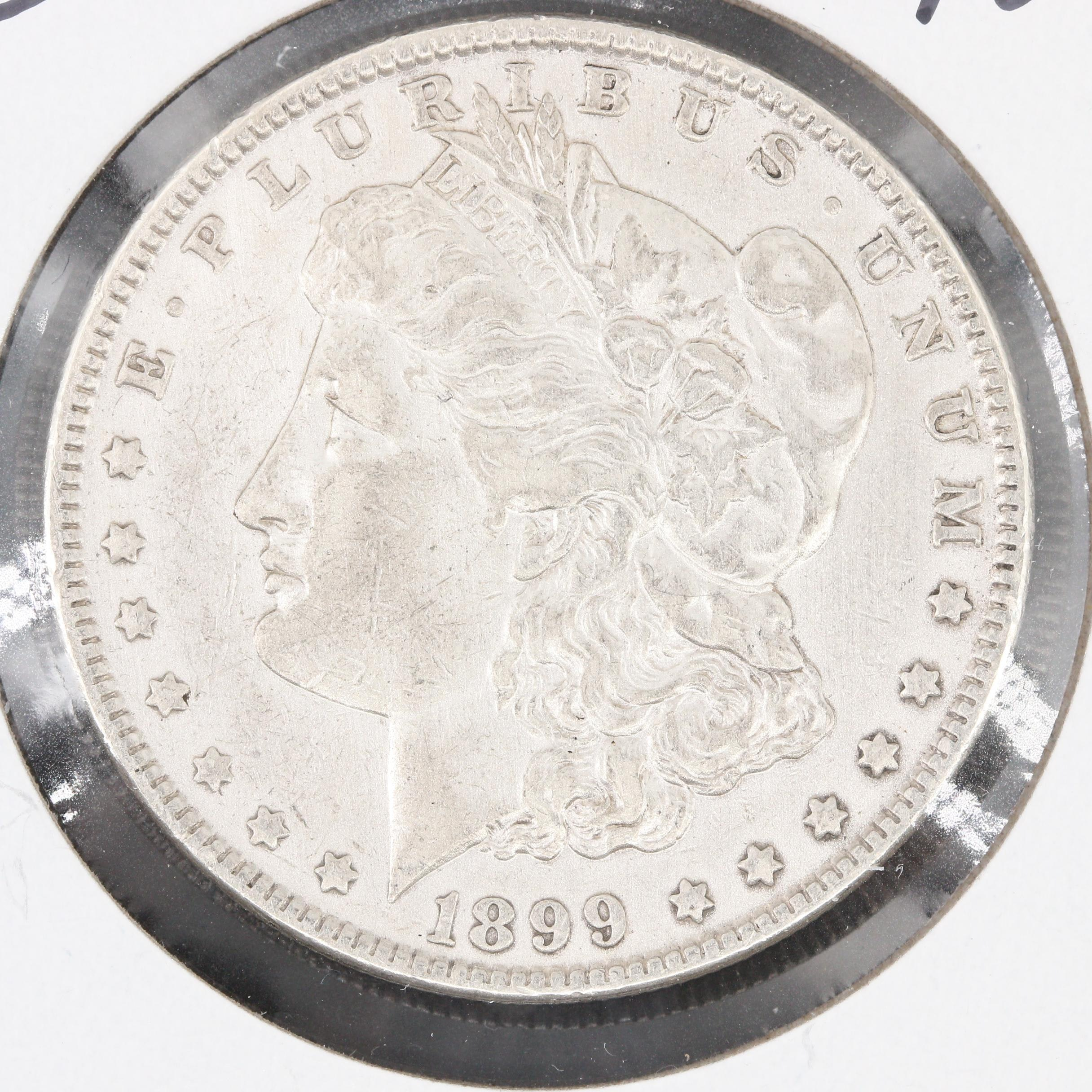 Low Mintage 1899 Silver Morgan Dollar
