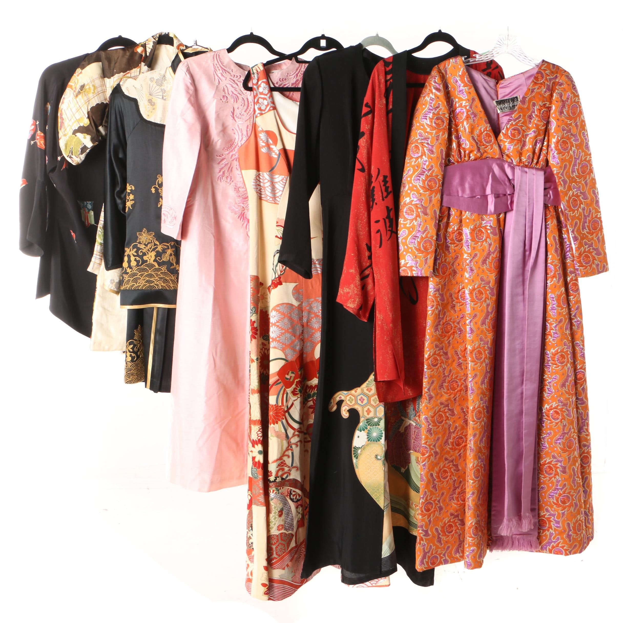East Asian Style Clothing, Evening Dresses and Children's Haori, Vintage