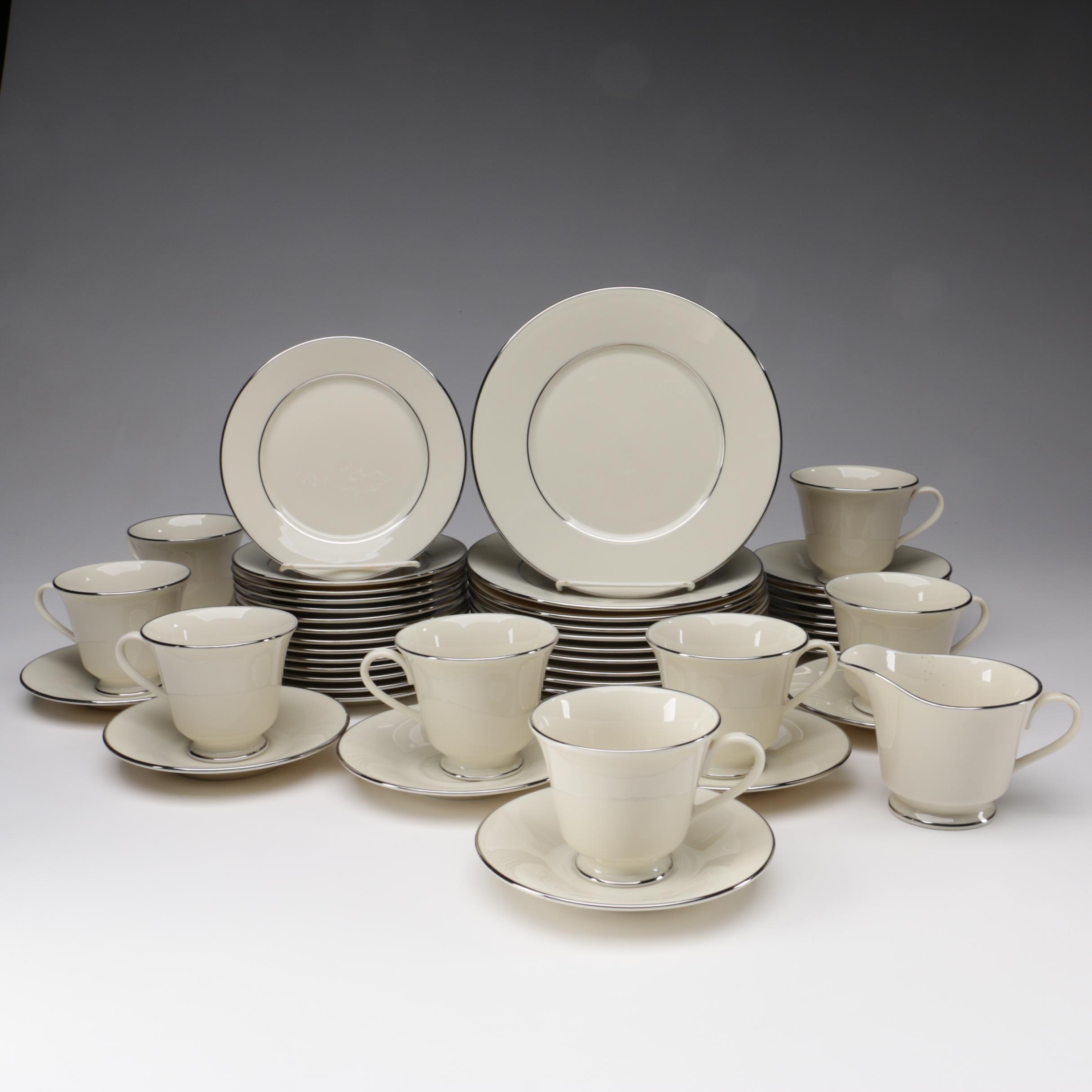 "Lenox Cosmopolitan Collection ""Maywood"" Bone China Dinnerware"