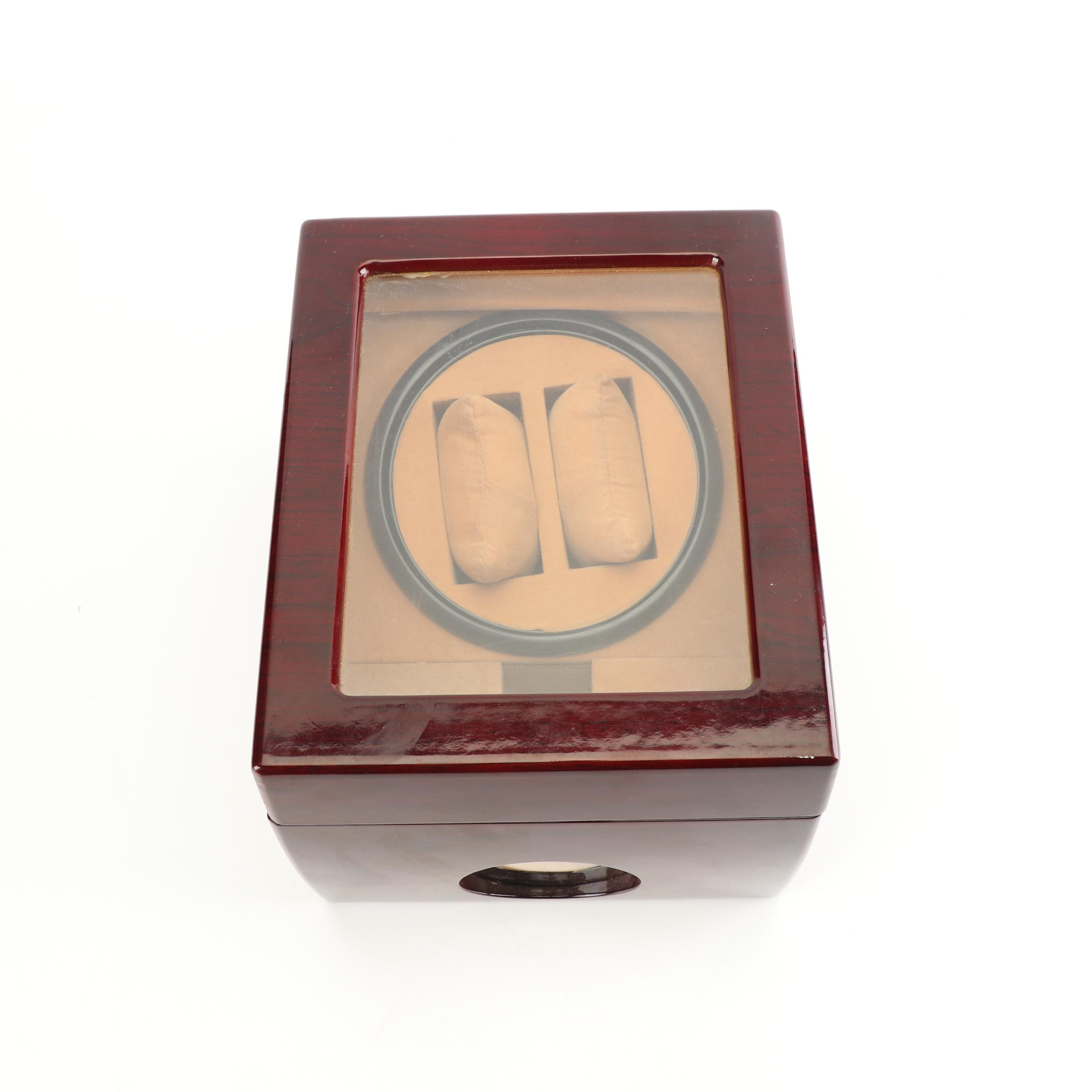 Wristwatch Winder Case