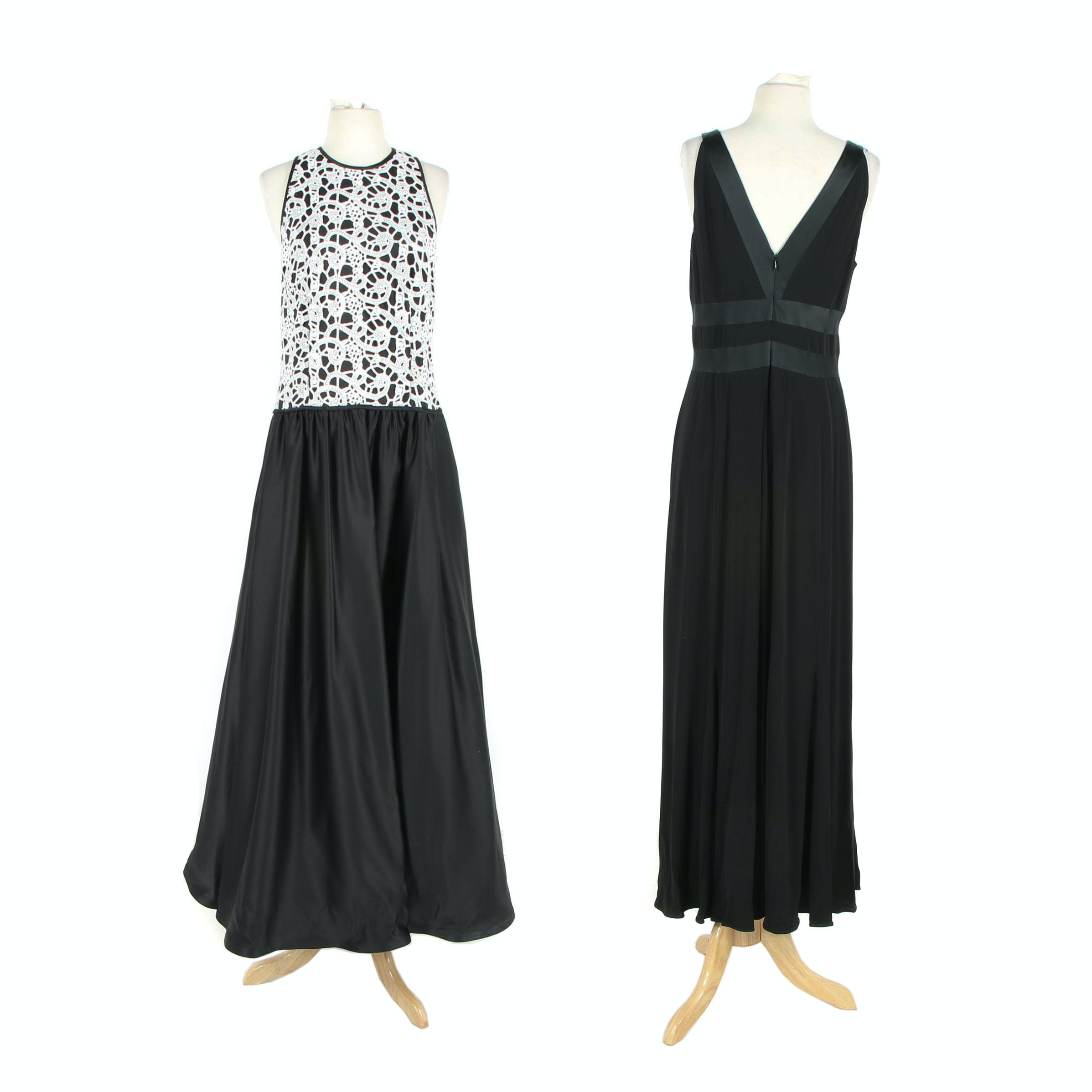 Women's Tadashi Collection and Kay Unger New York Sleeveless Evening Dresses