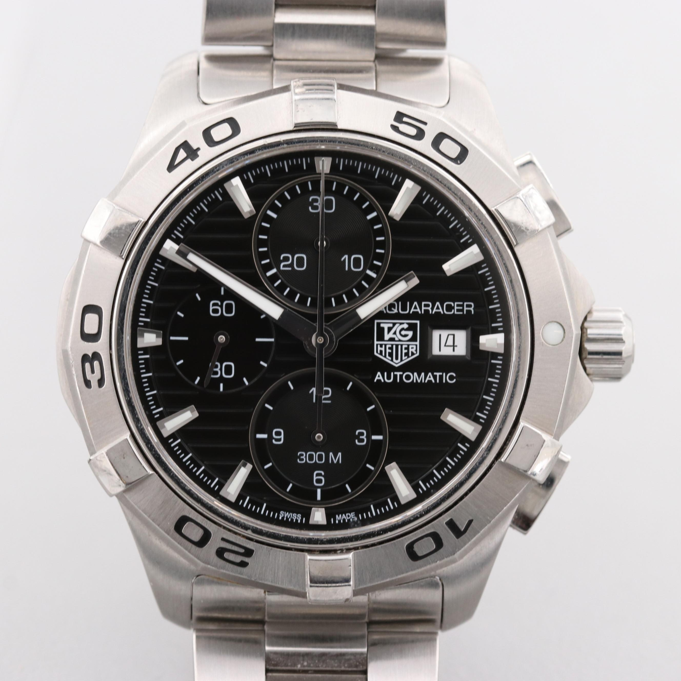 TAG Heuer Aquaracer Stainless Steel Automatic Wristwatch