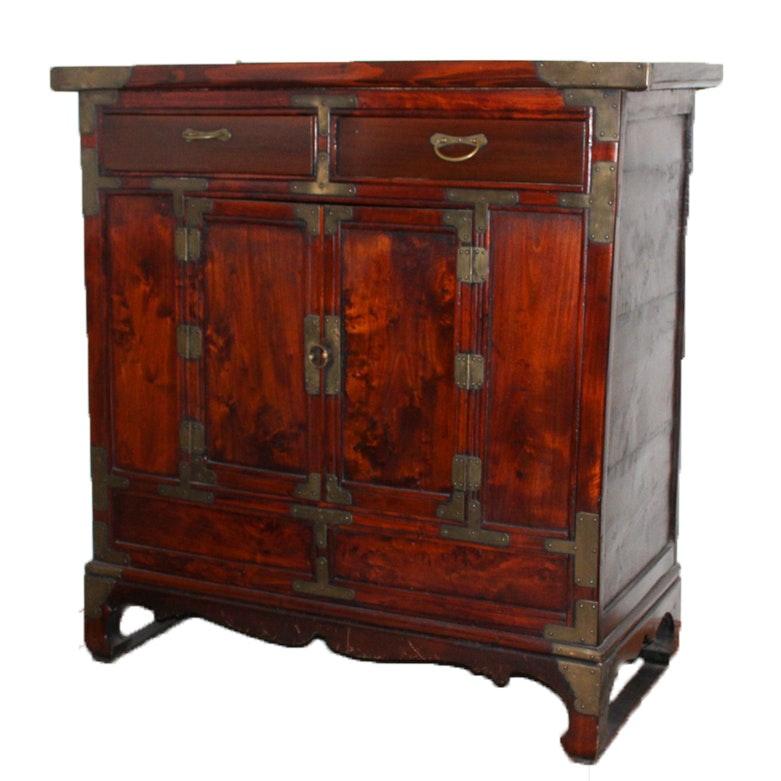 Vintage Chinese Wooden Storage Cabinet