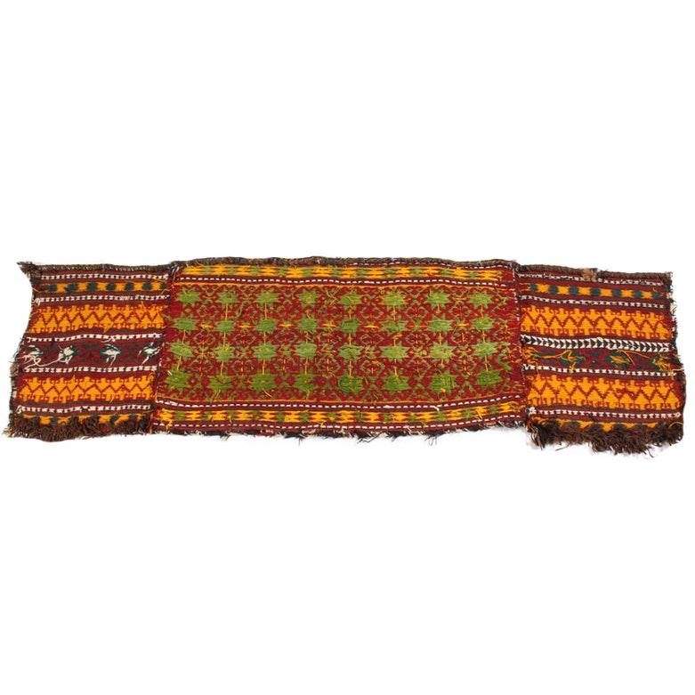 Hand-Woven Persian Kurdish Sofreh Textile