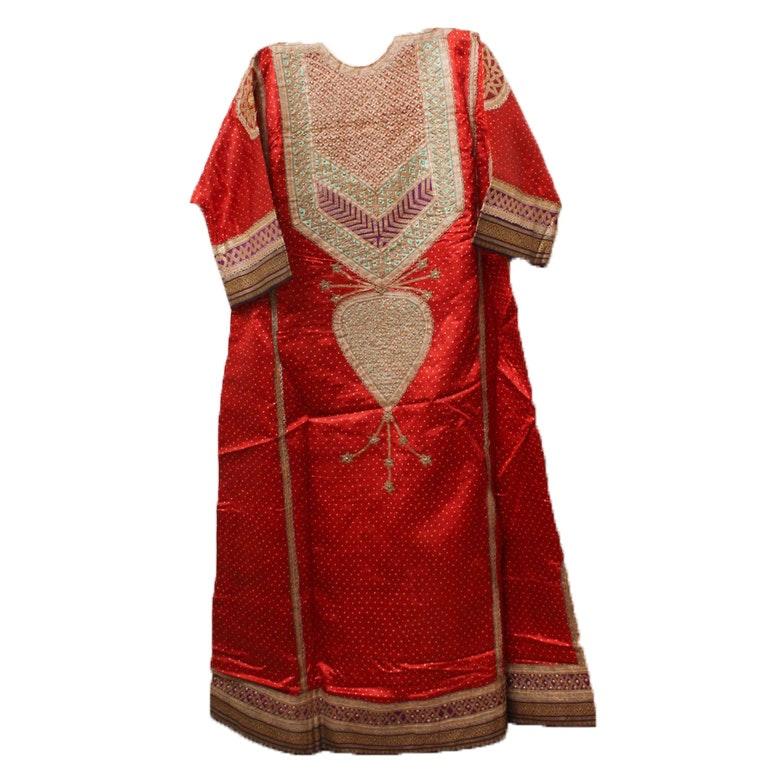 Vintage Indian Silk Kameez