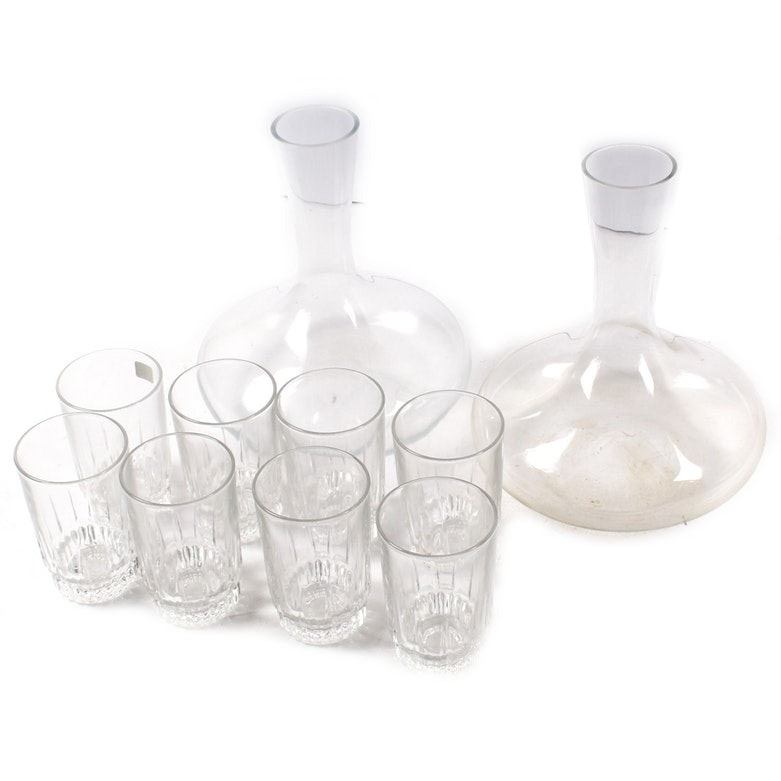 Arcoroc Glasses and Carafes