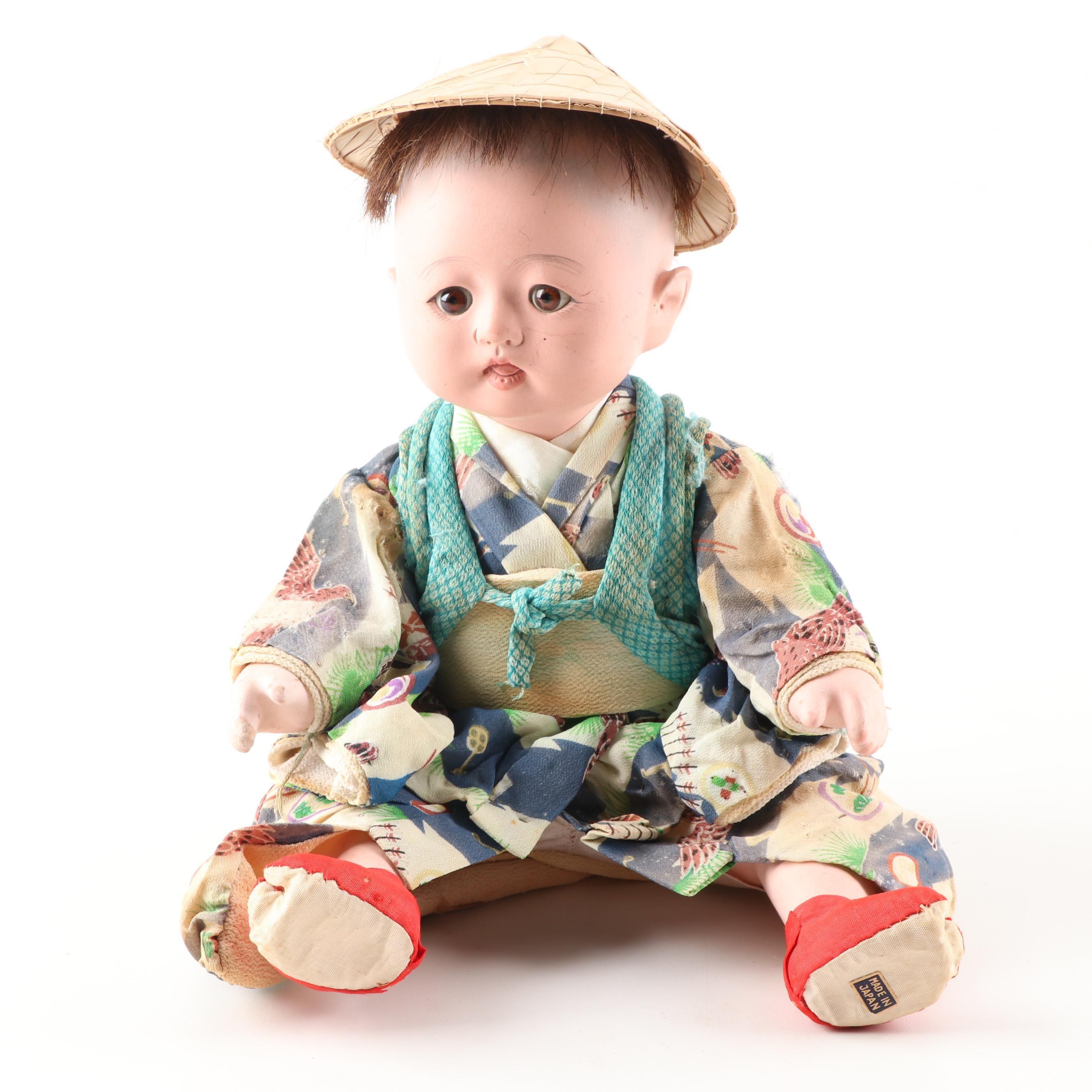 Japanese Ceramic Doll