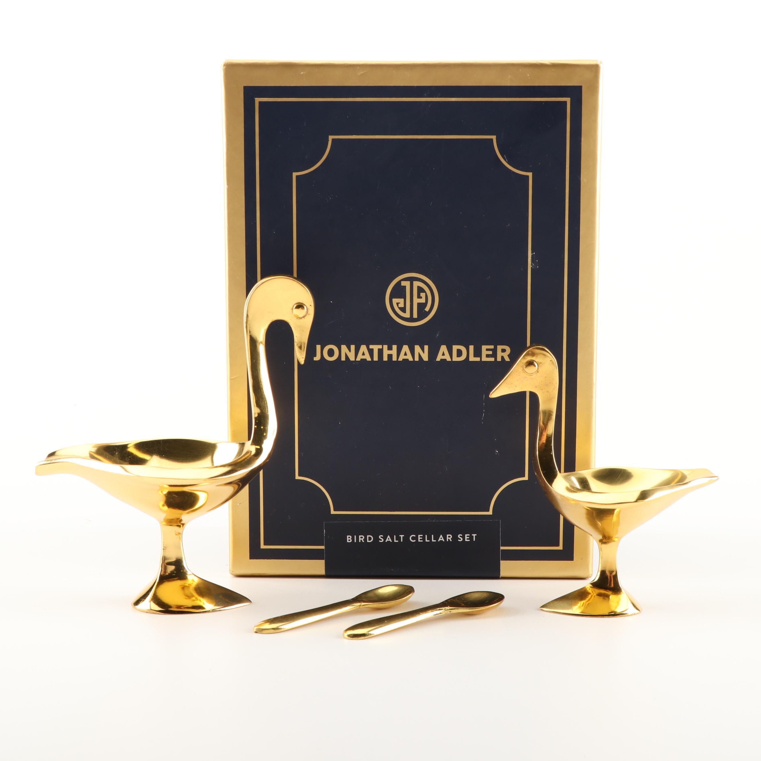 Jonathan Adler Bird Salt Cellar Set