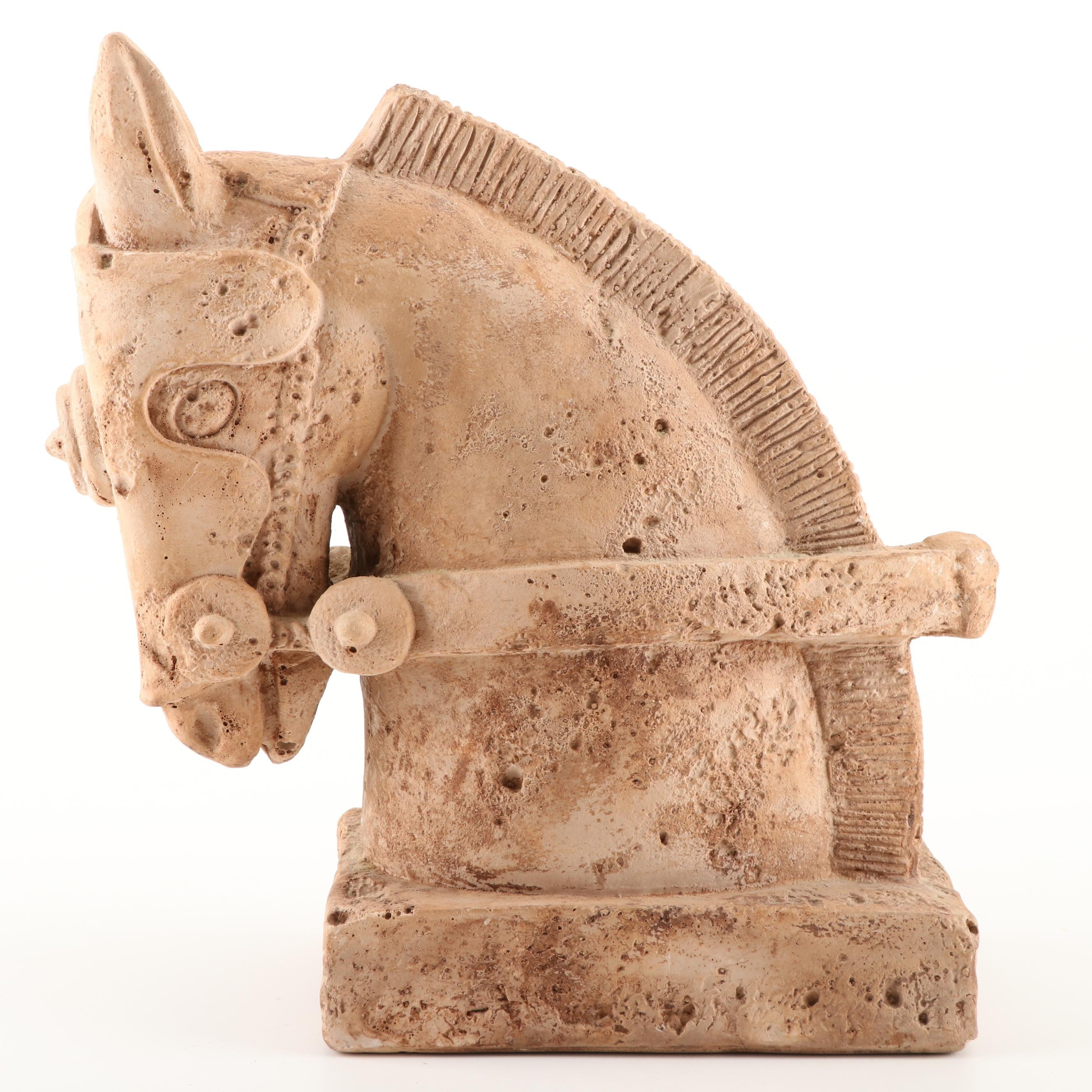 Trojan Style Horse Head