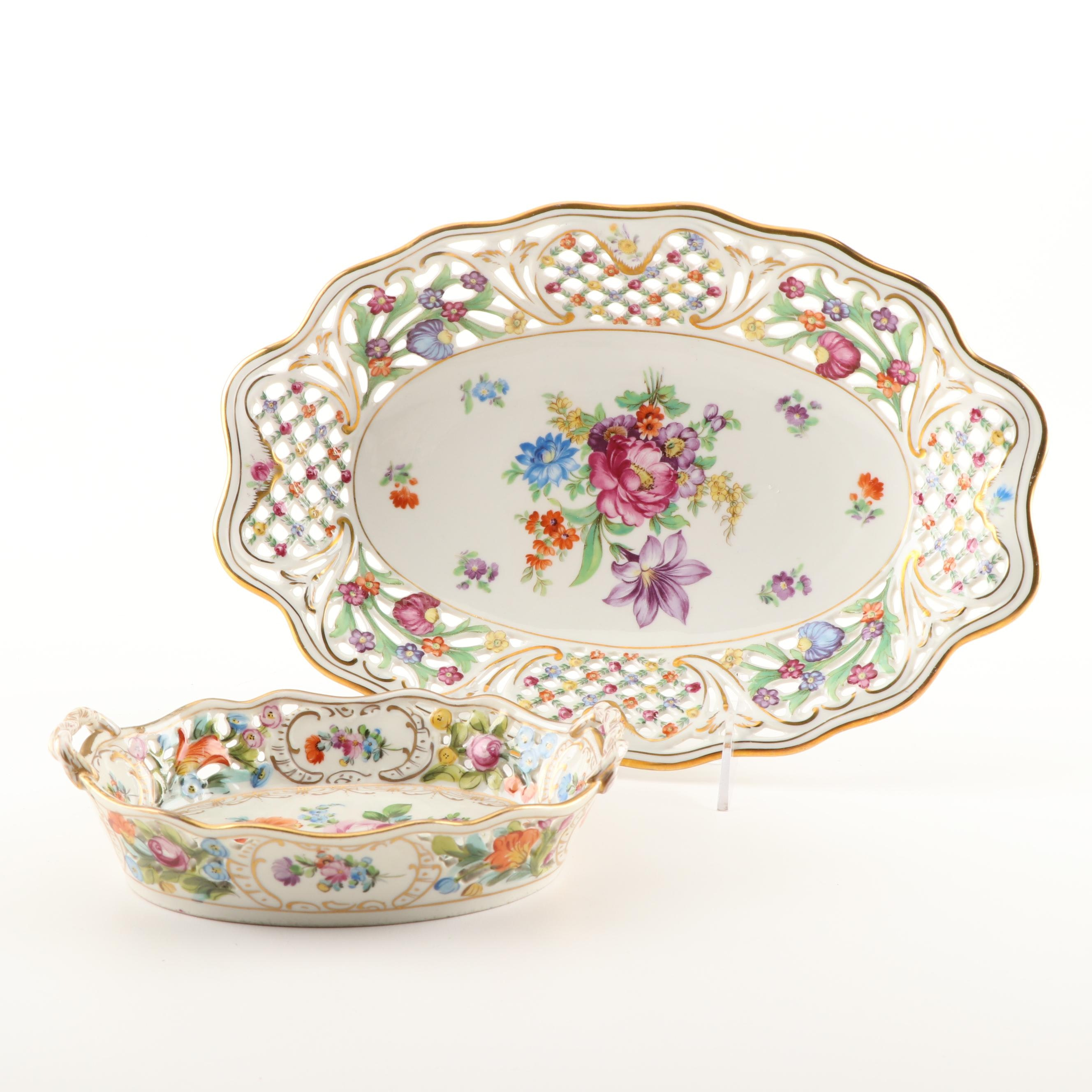 Hand Painted Bavarian Tableware