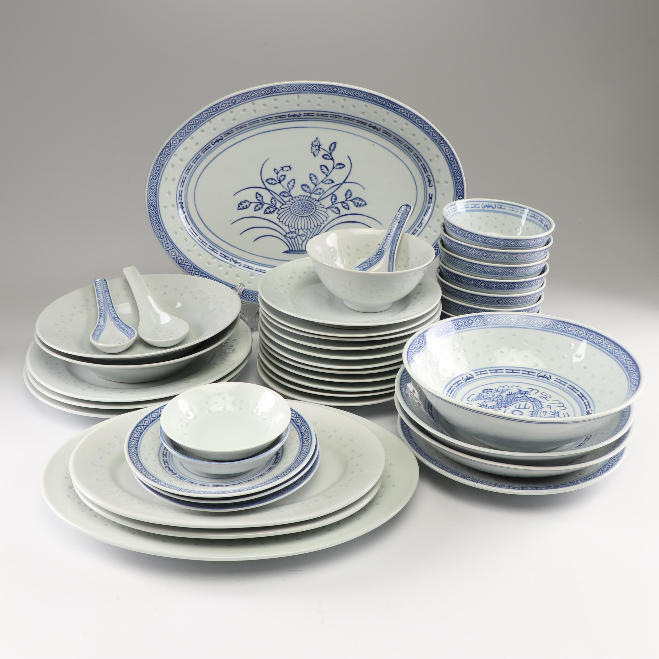 Chinese Porcelain Dinnerware