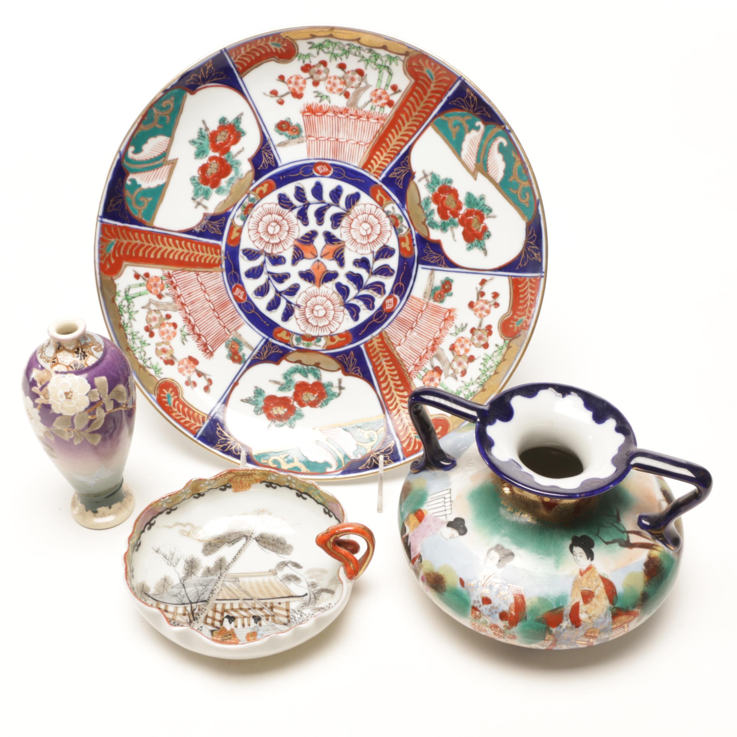 Japanese Porcelain Including Imari Serving Plate