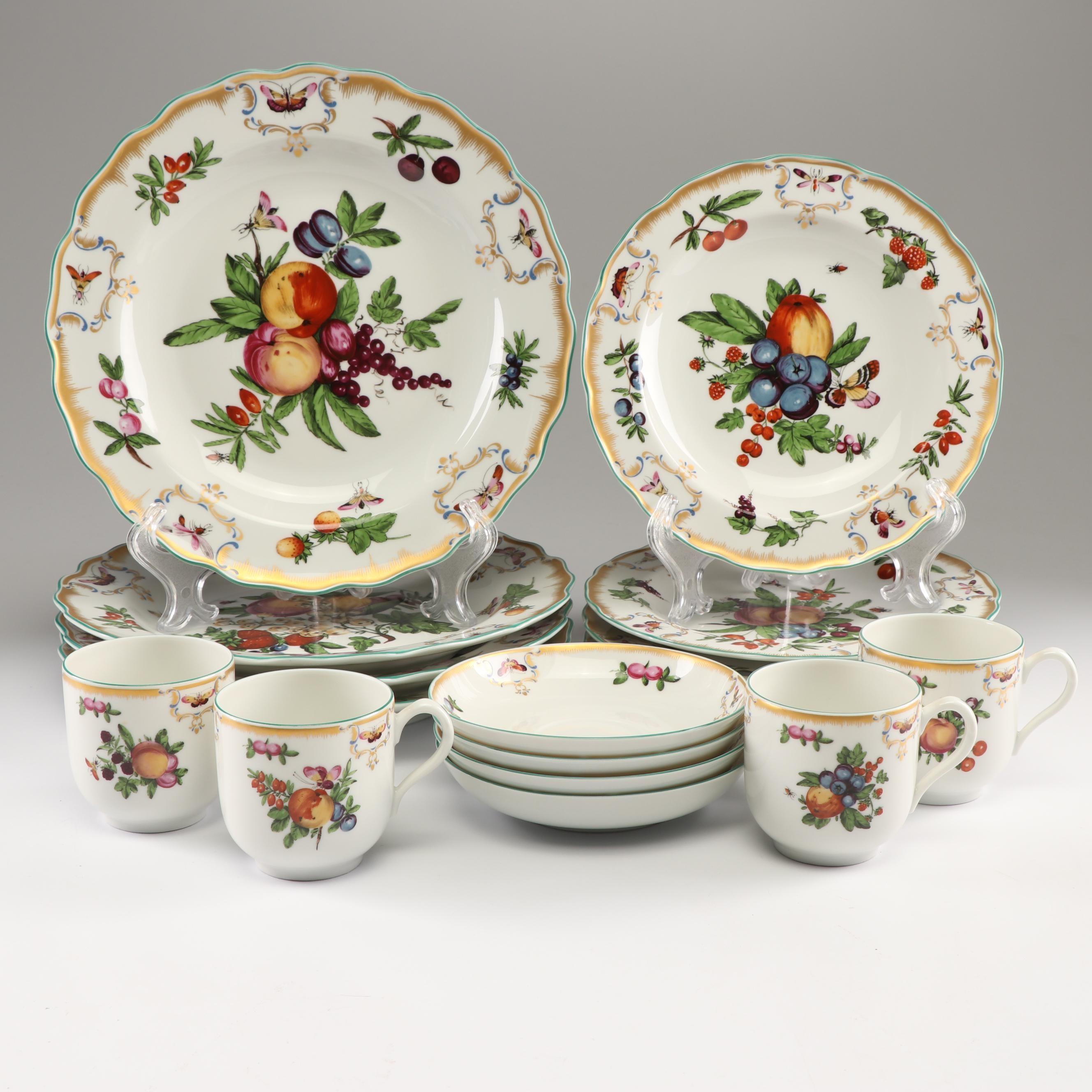 """Mottahedeh """"Williamsburg Duke of Gloucester"""" Dinnerware"""
