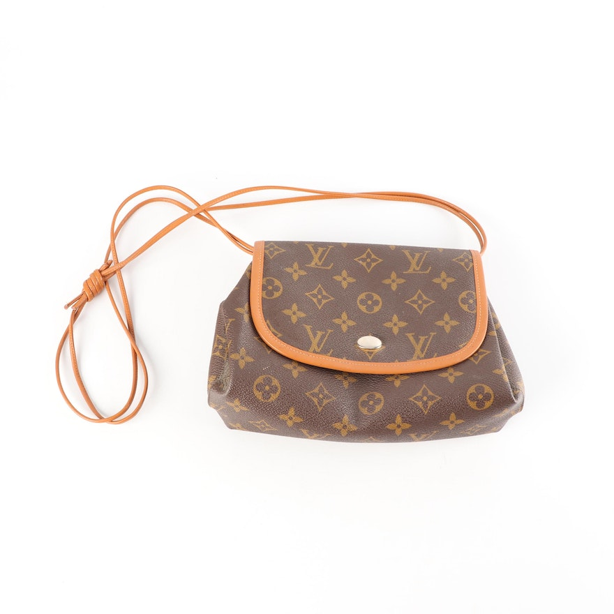 1cd6edb4314f Louis Vuitton Monogram Canvas and Leather Crossbody Bag