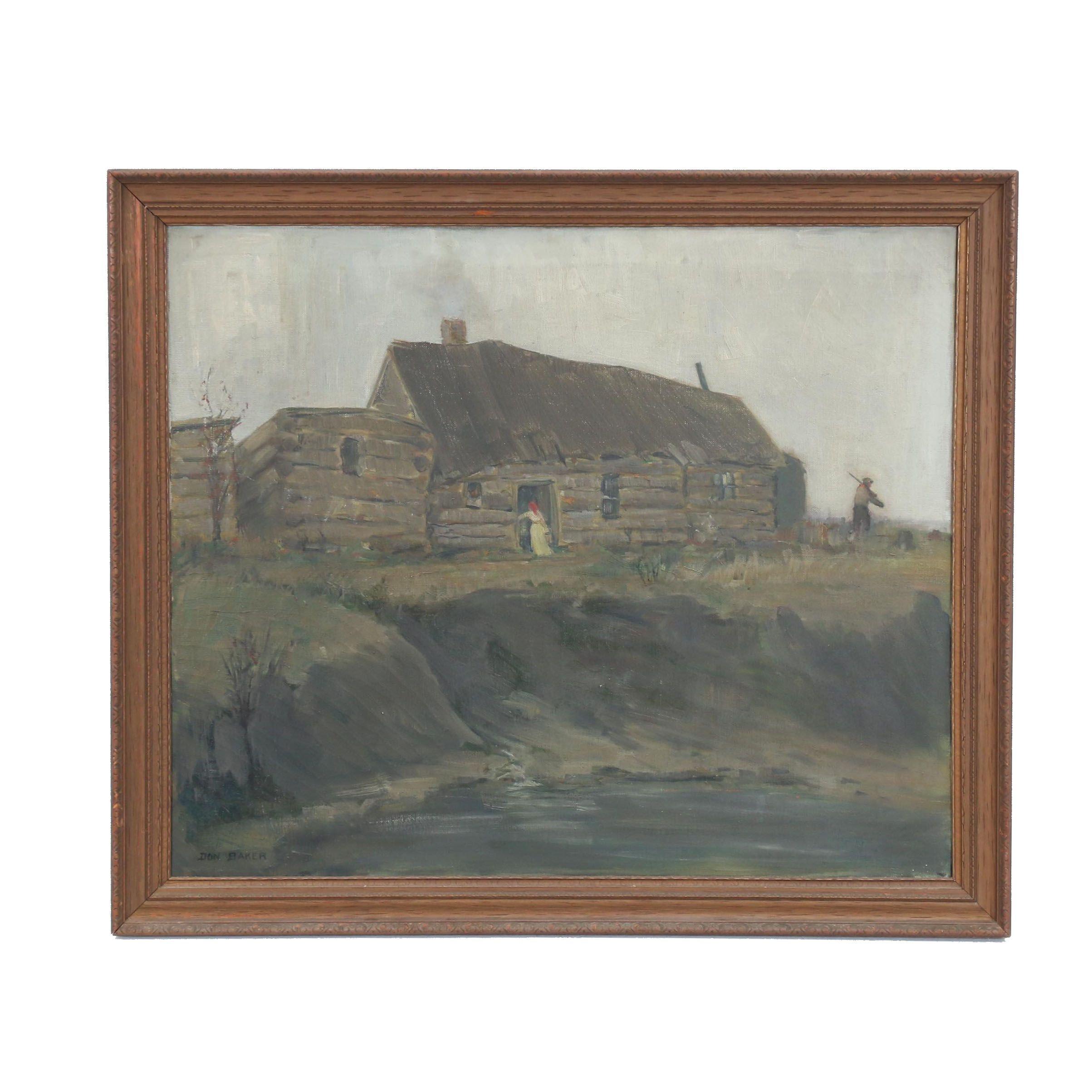 Don Baker Landscape Oil Painting