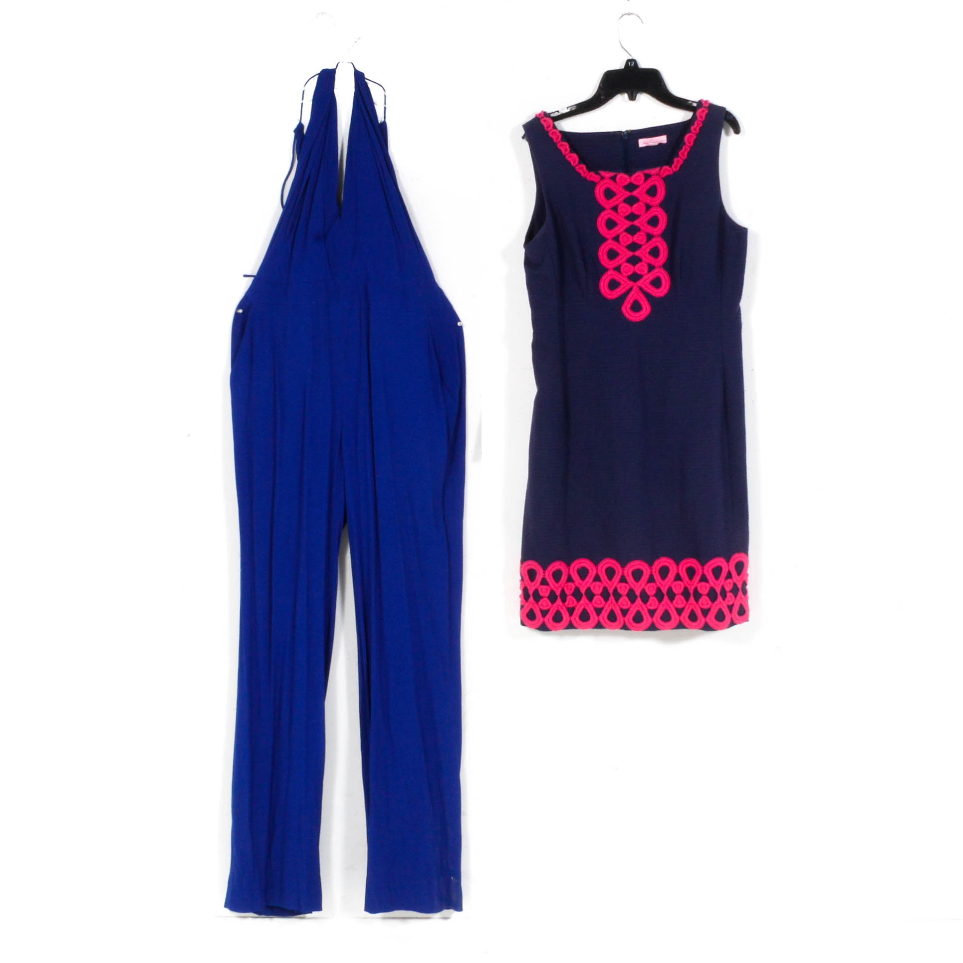 Diane von Fürstenberg Jumpsuit and Lily Pulitzer Dress