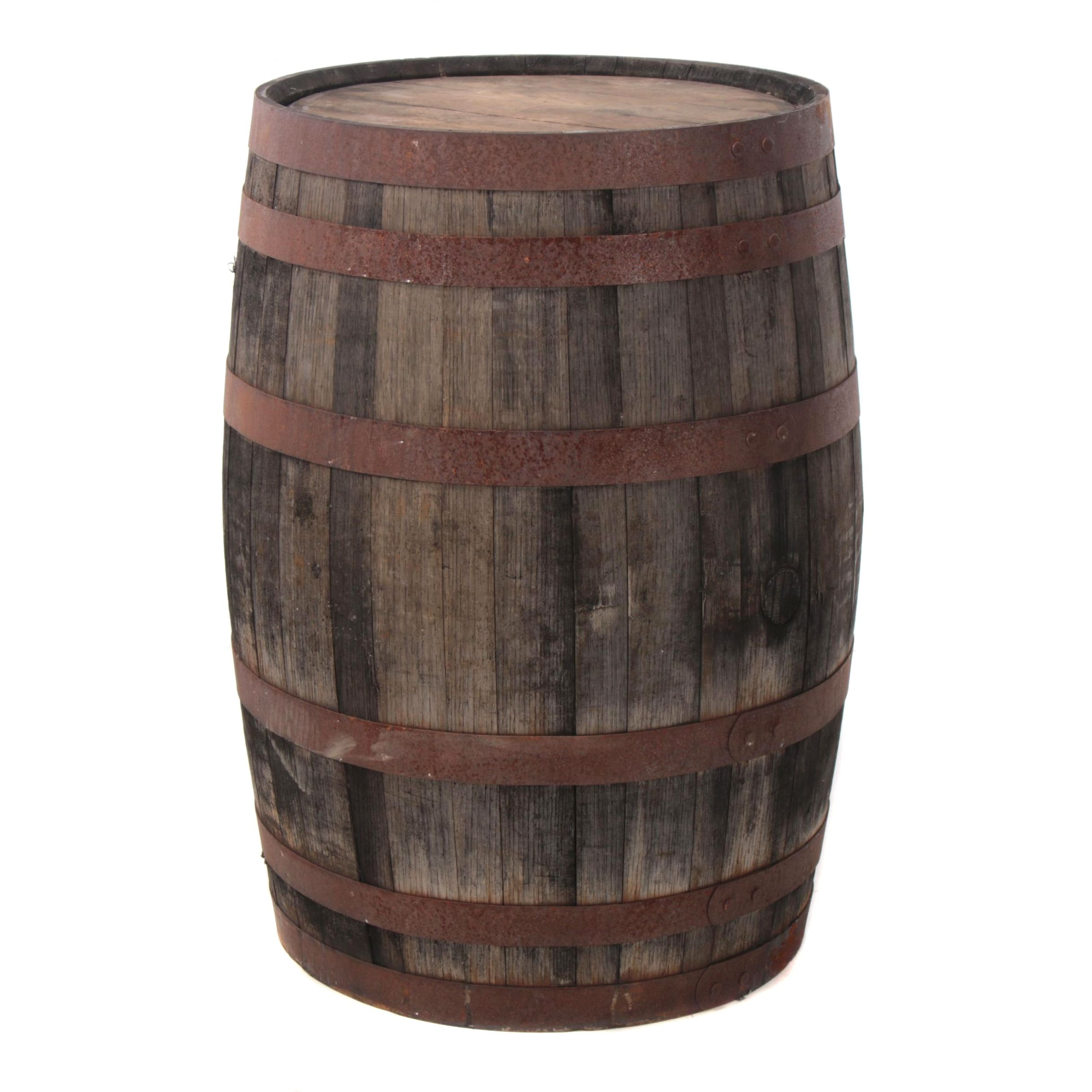 Oak Whiskey Barrel, 20th Century