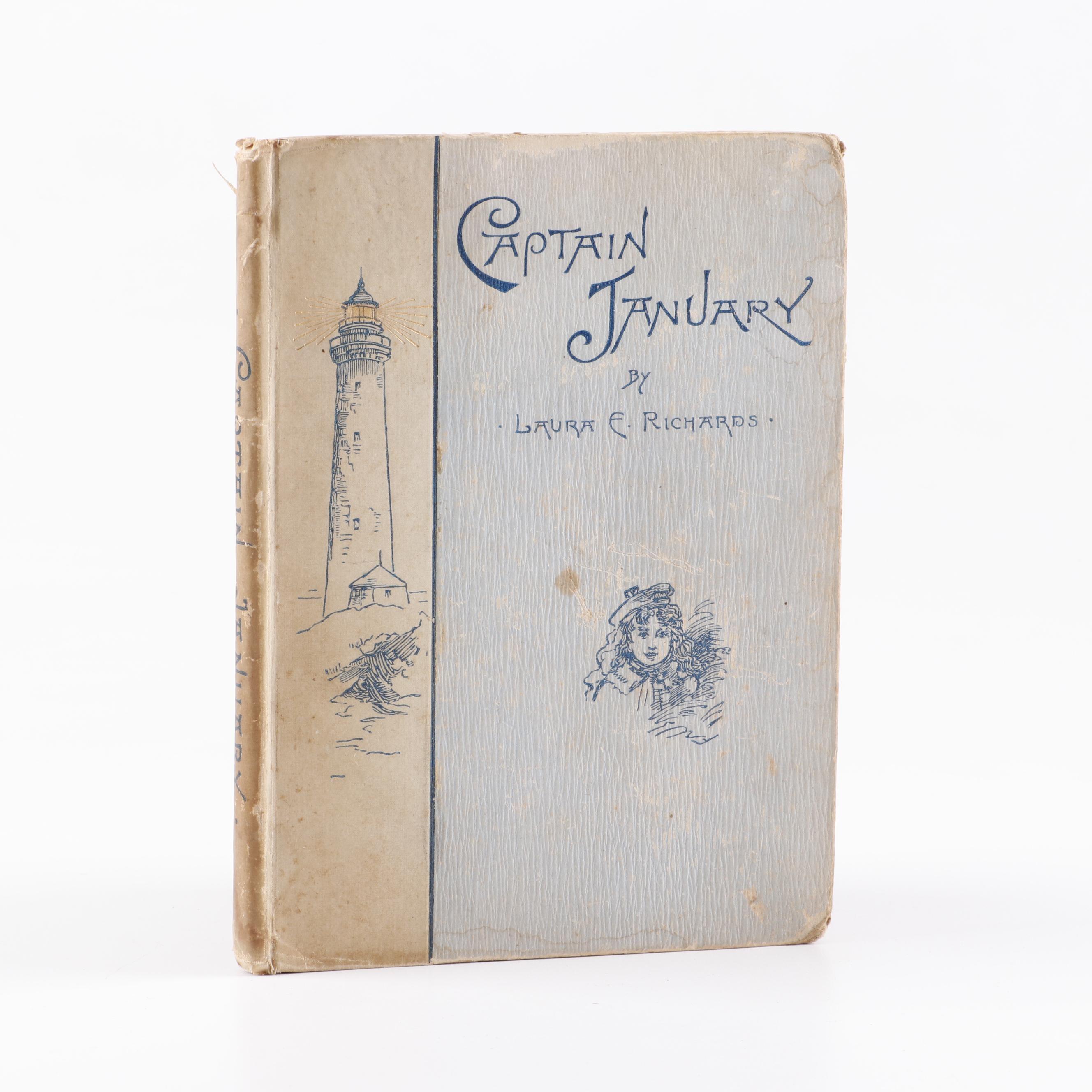 """""""Captain January"""" by Laura E. Richards, 1891"""