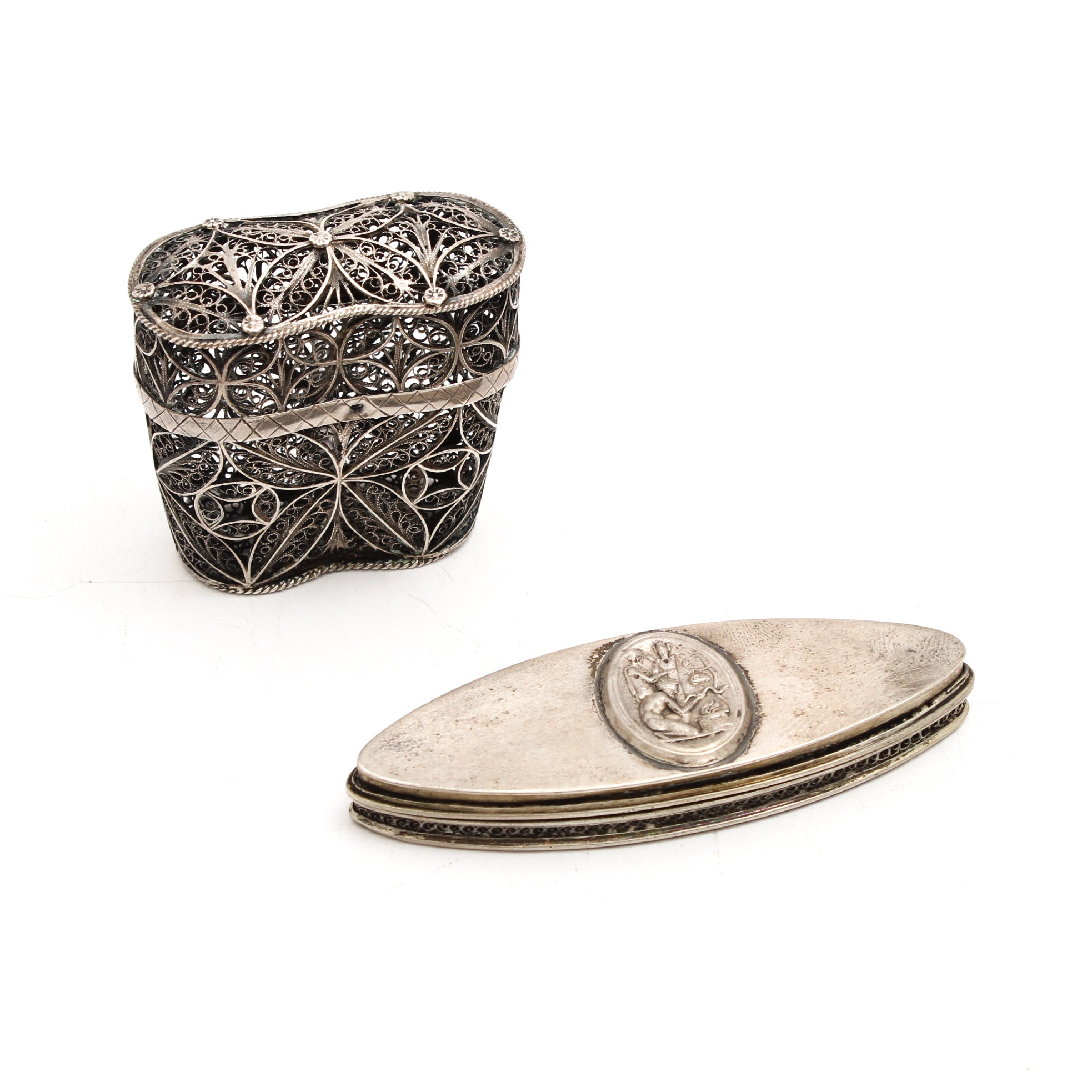 Sterling Silver Boxes