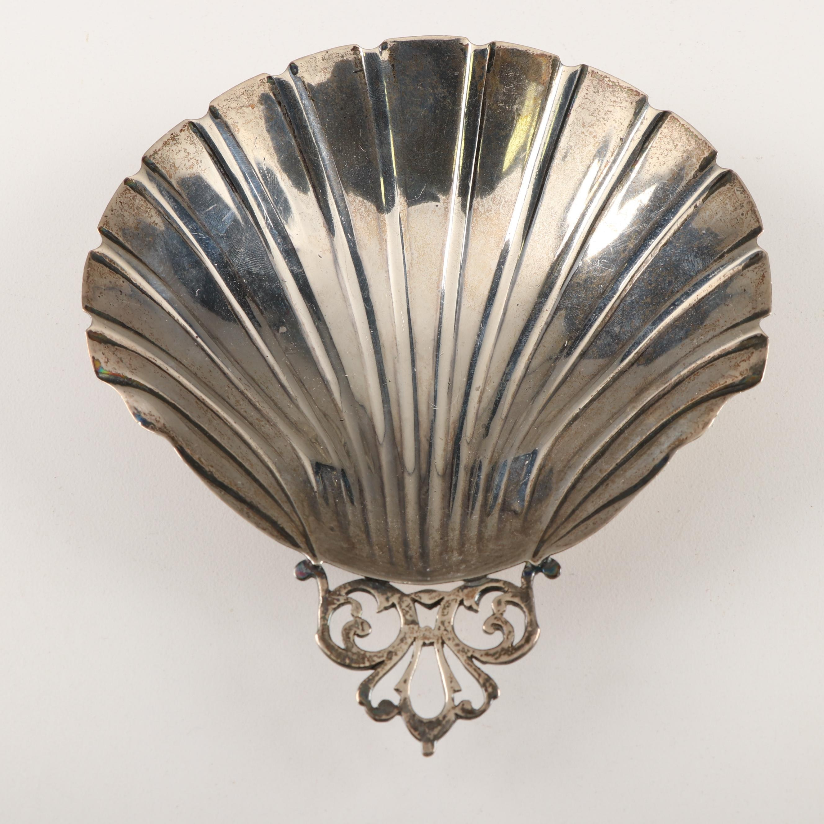 Black, Starr and Gorham Sterling Shell Form Bonbon Dish