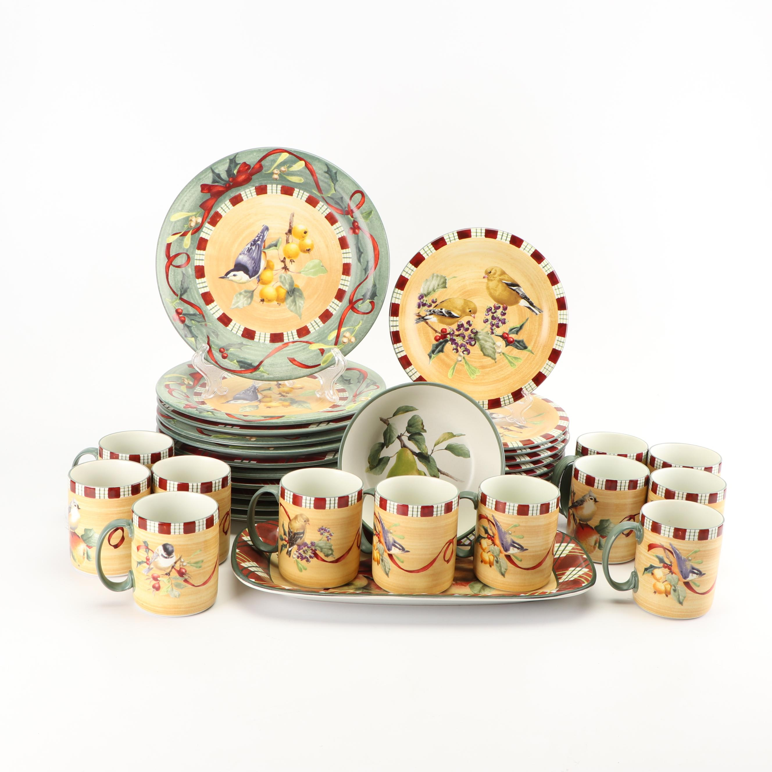 "Lenox ""Goldfinch"" Ceramic Dinnerware"