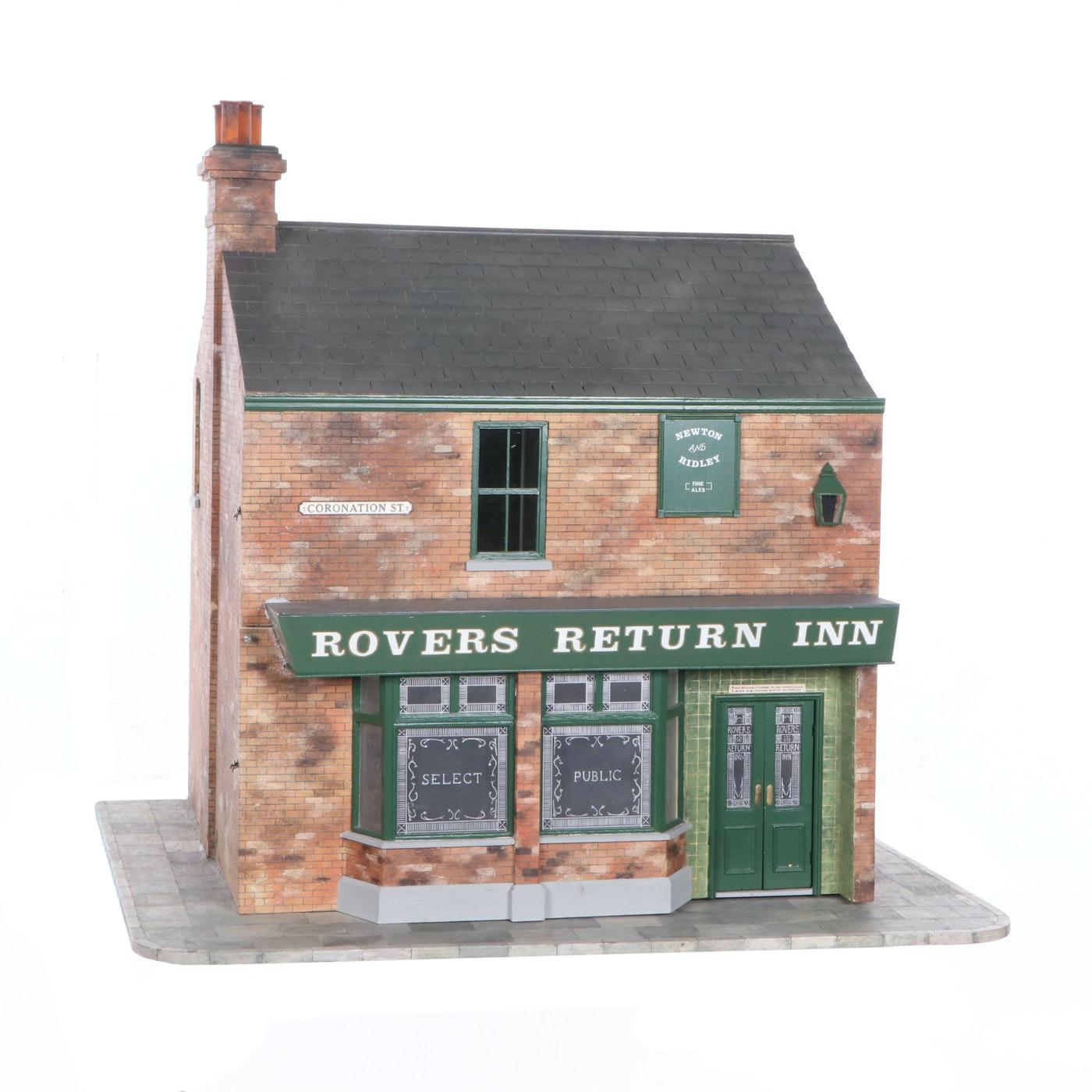 """""""Rovers Return Inn"""" English Pub Dollhouse Miniature"""