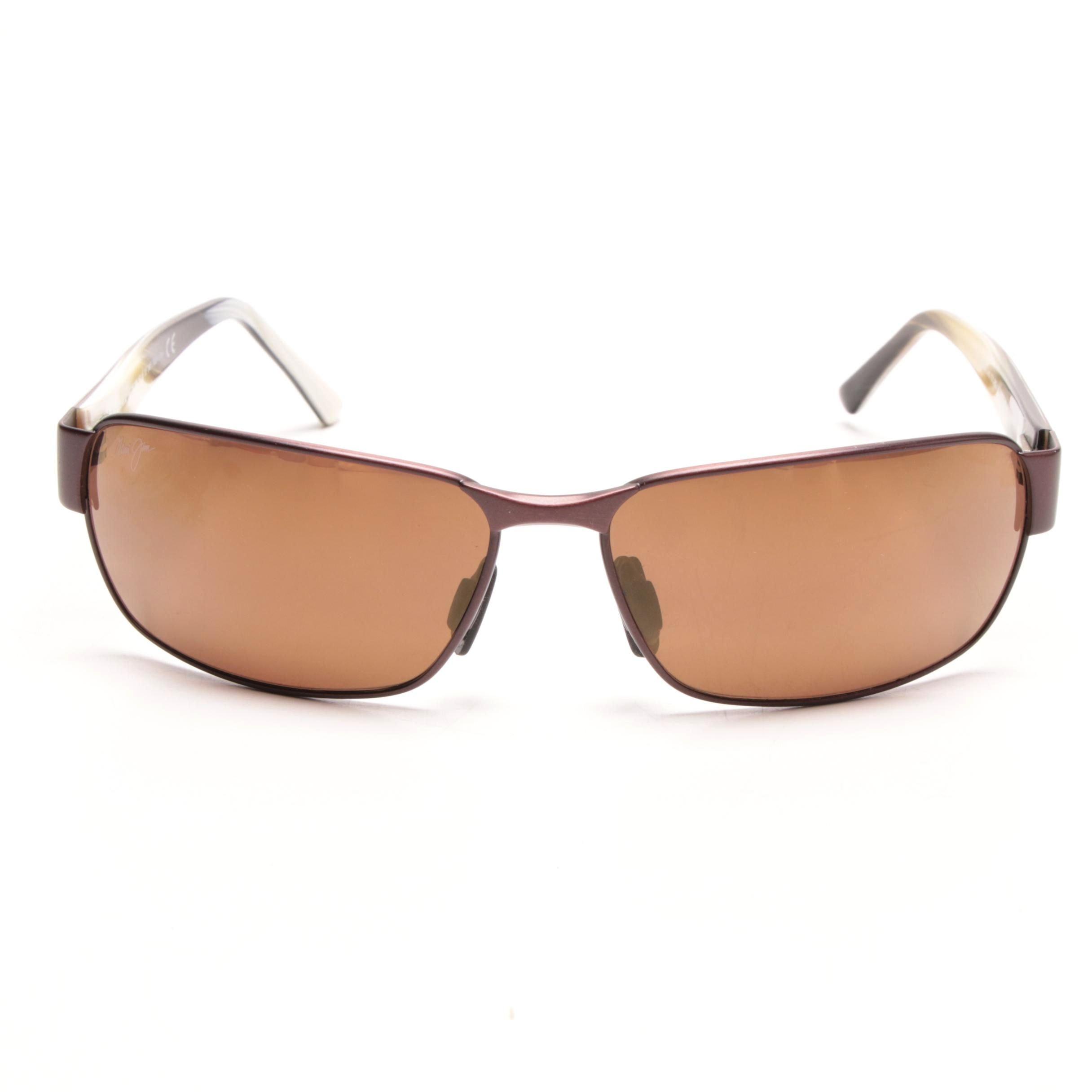 Maui Jim Black Coral Sunglasses with Case