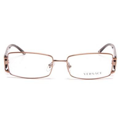 584114a445e Versace Rhinestone Embellished Eyeglasses with Case