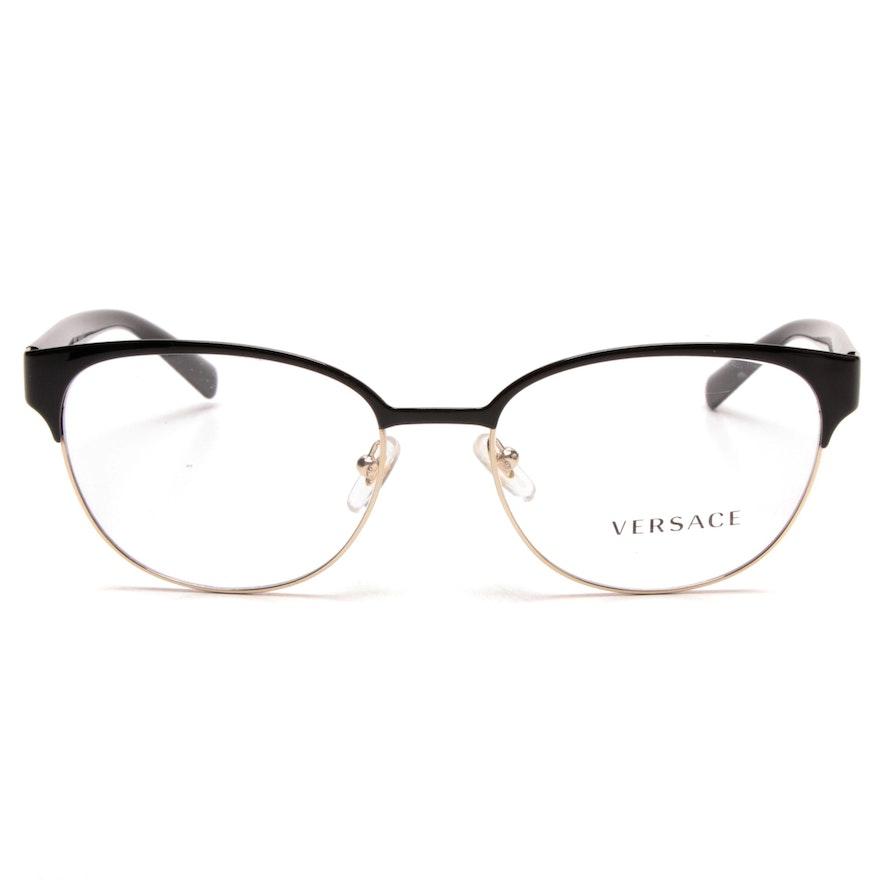 d04cd0f6aab Versace Browline Eyeglasses   EBTH