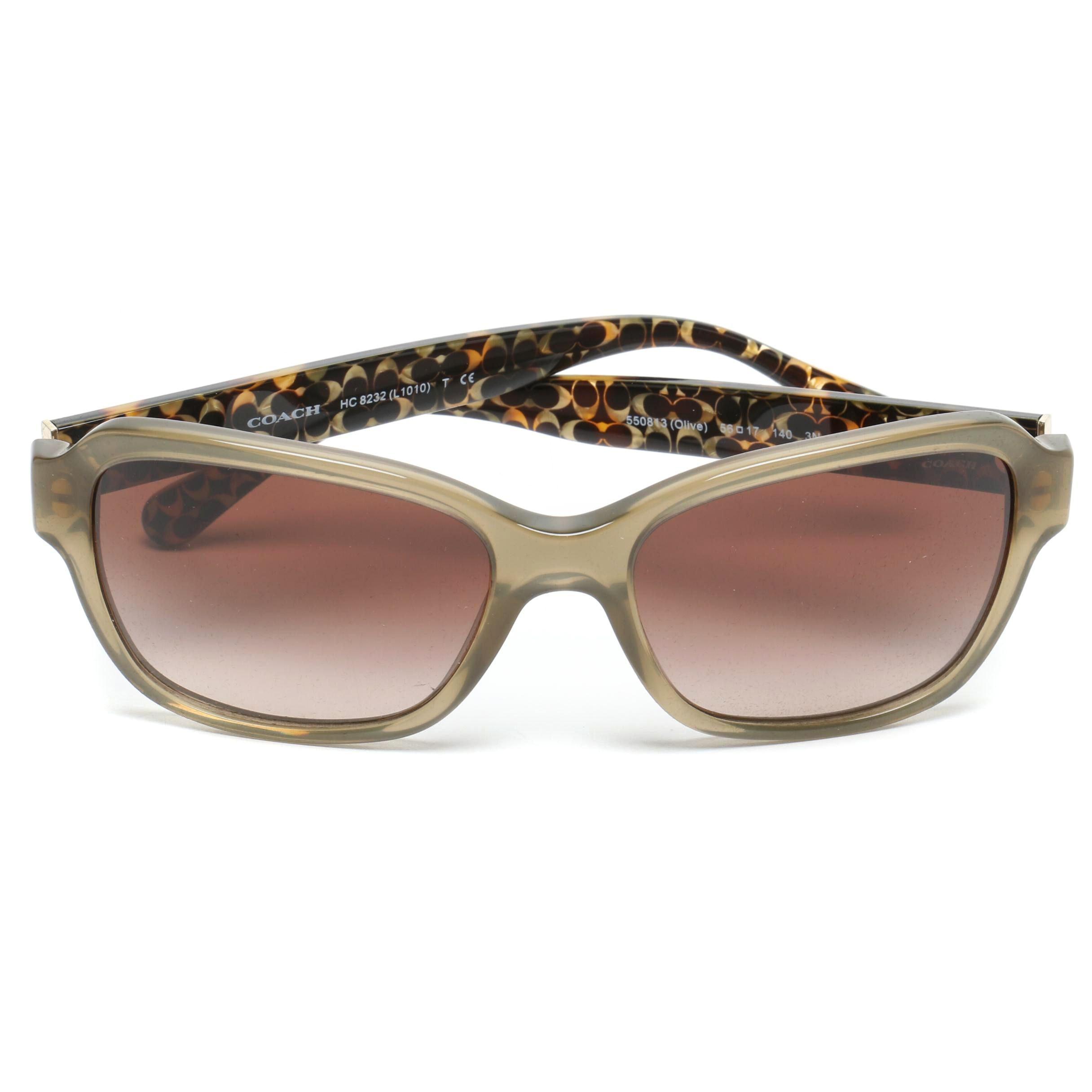Coach Olive Signature Sunglasses with Case