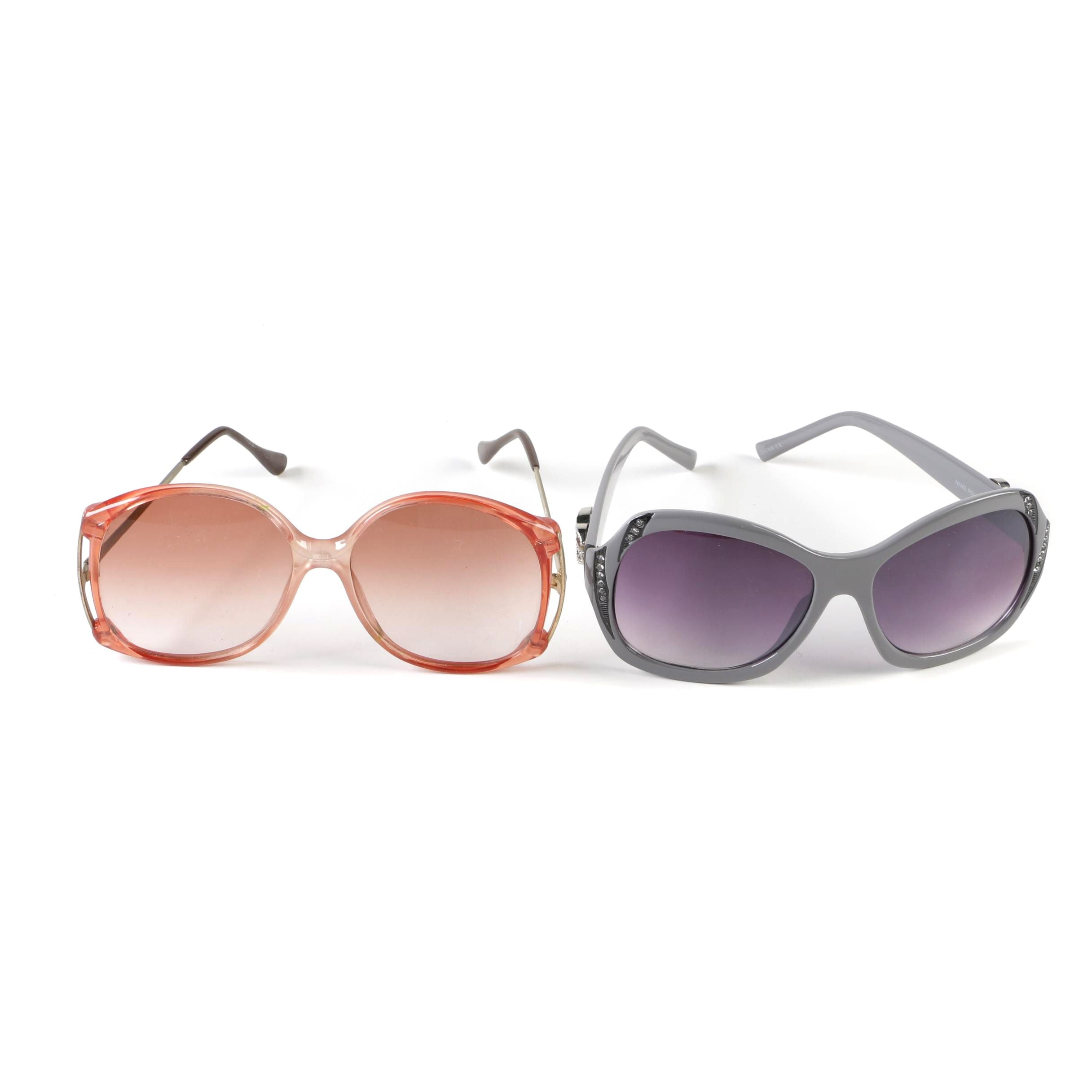 IG and Korean Made Oversized Style Sunglasses