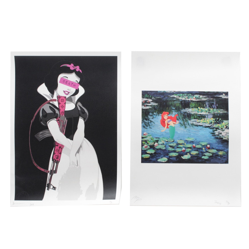 Missing Pieces and Death NYC Graphic Prints