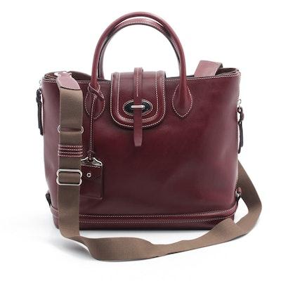 d4700826f175 Dooney   Bourke Bordeaux Leather Business Tote Crossbody