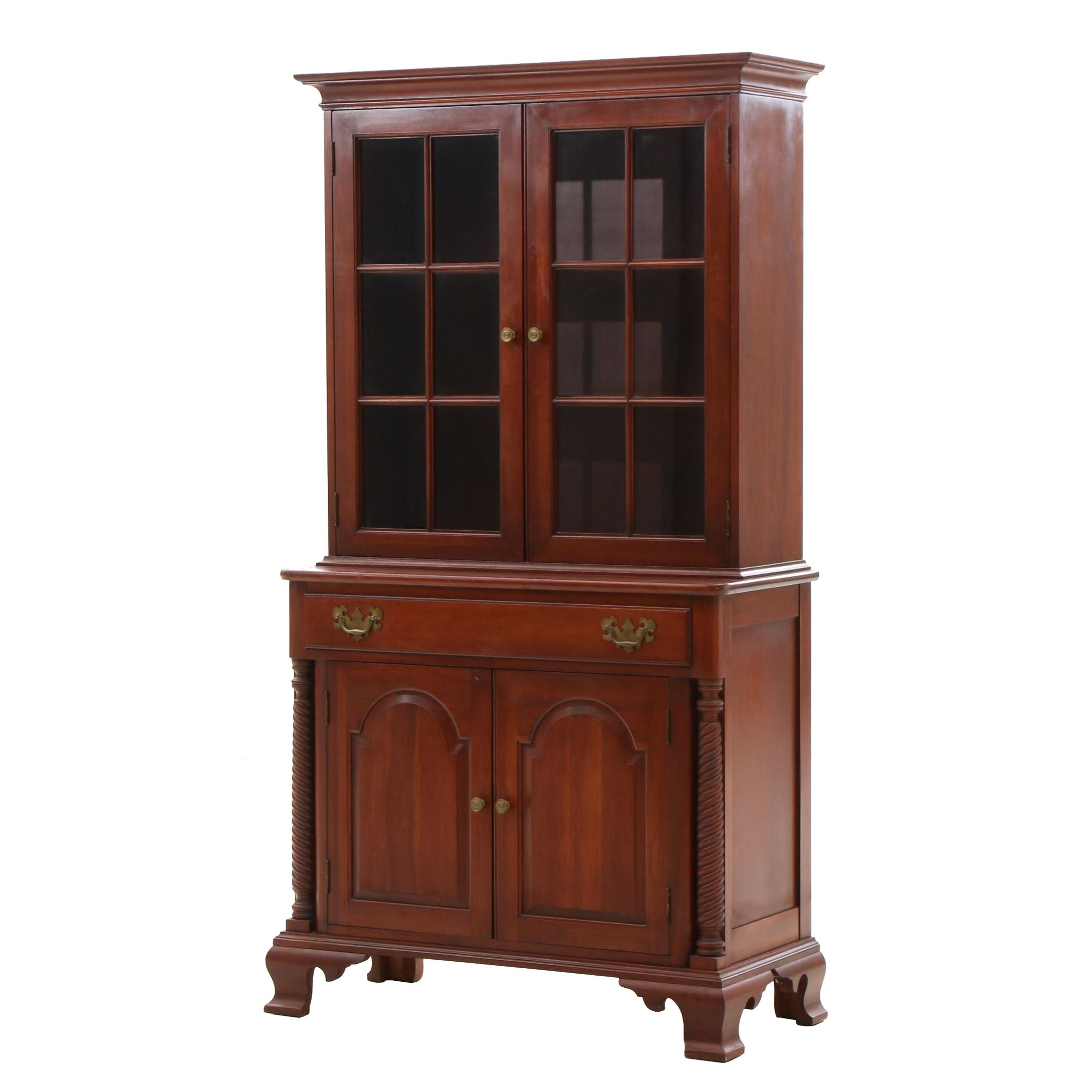 Willett Wildwood Cherry China Cabinet